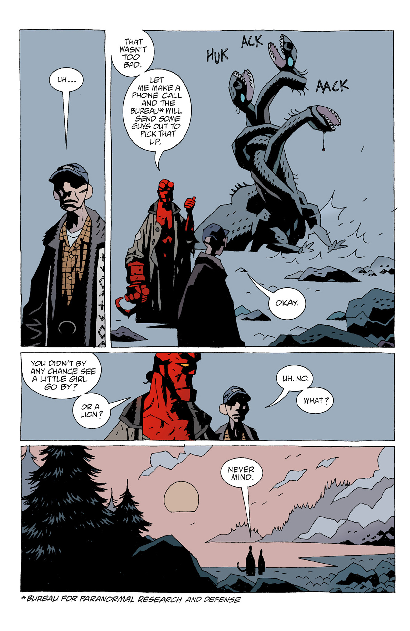 Read online Hellboy: The Troll Witch and Others comic -  Issue # TPB - 24