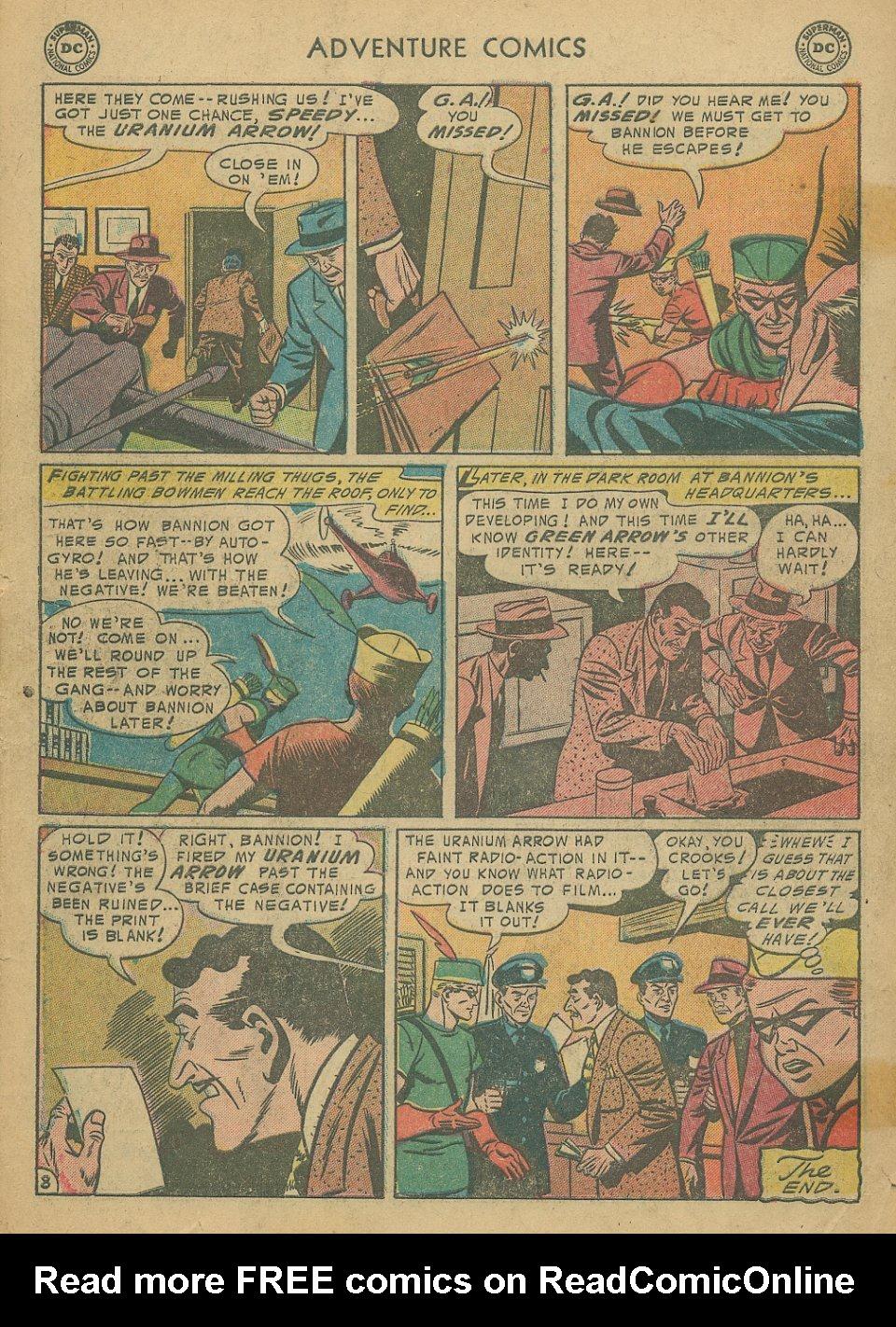 Read online Adventure Comics (1938) comic -  Issue #205 - 35