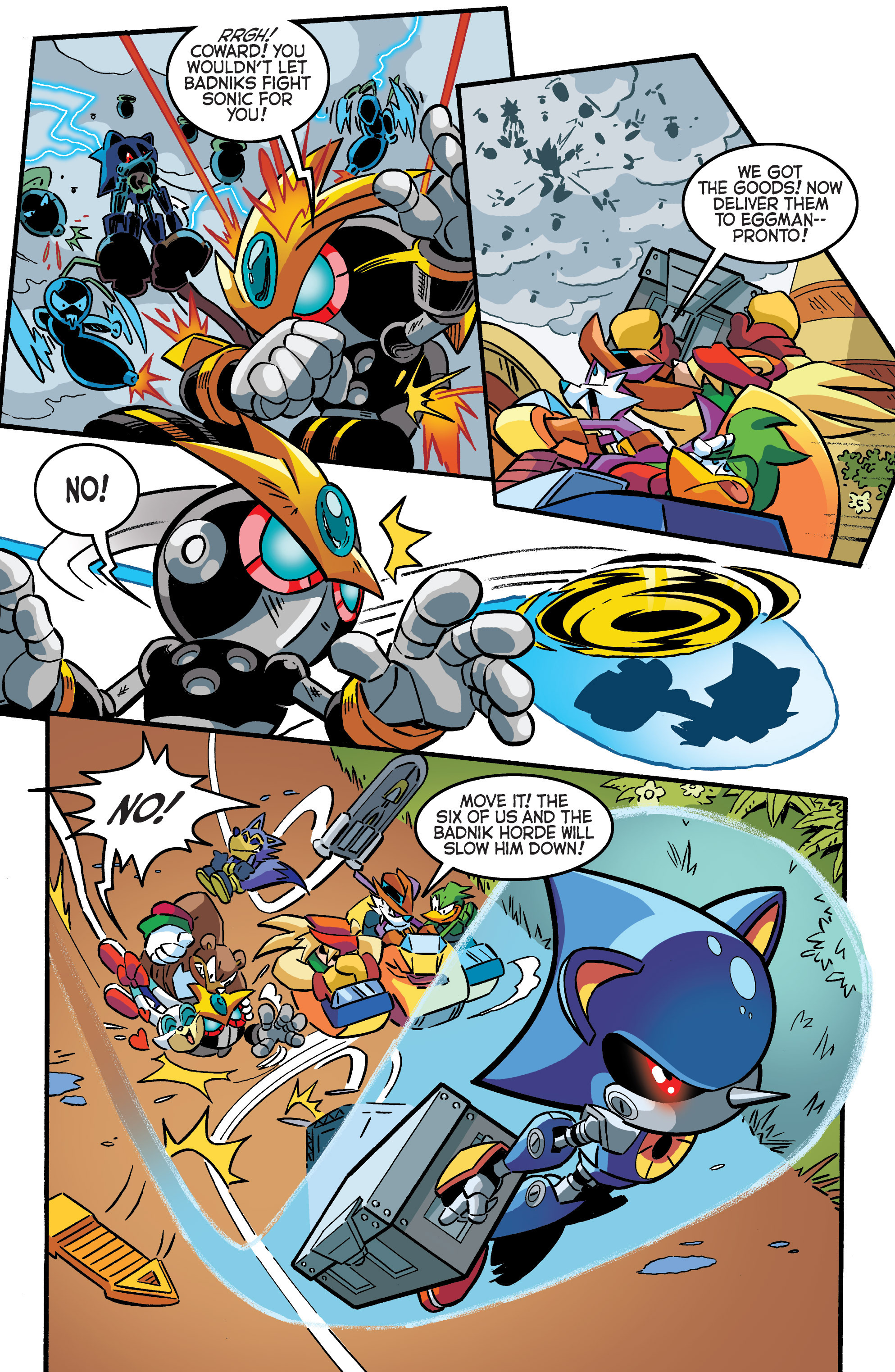 Read online Sonic The Hedgehog comic -  Issue #284 - 13