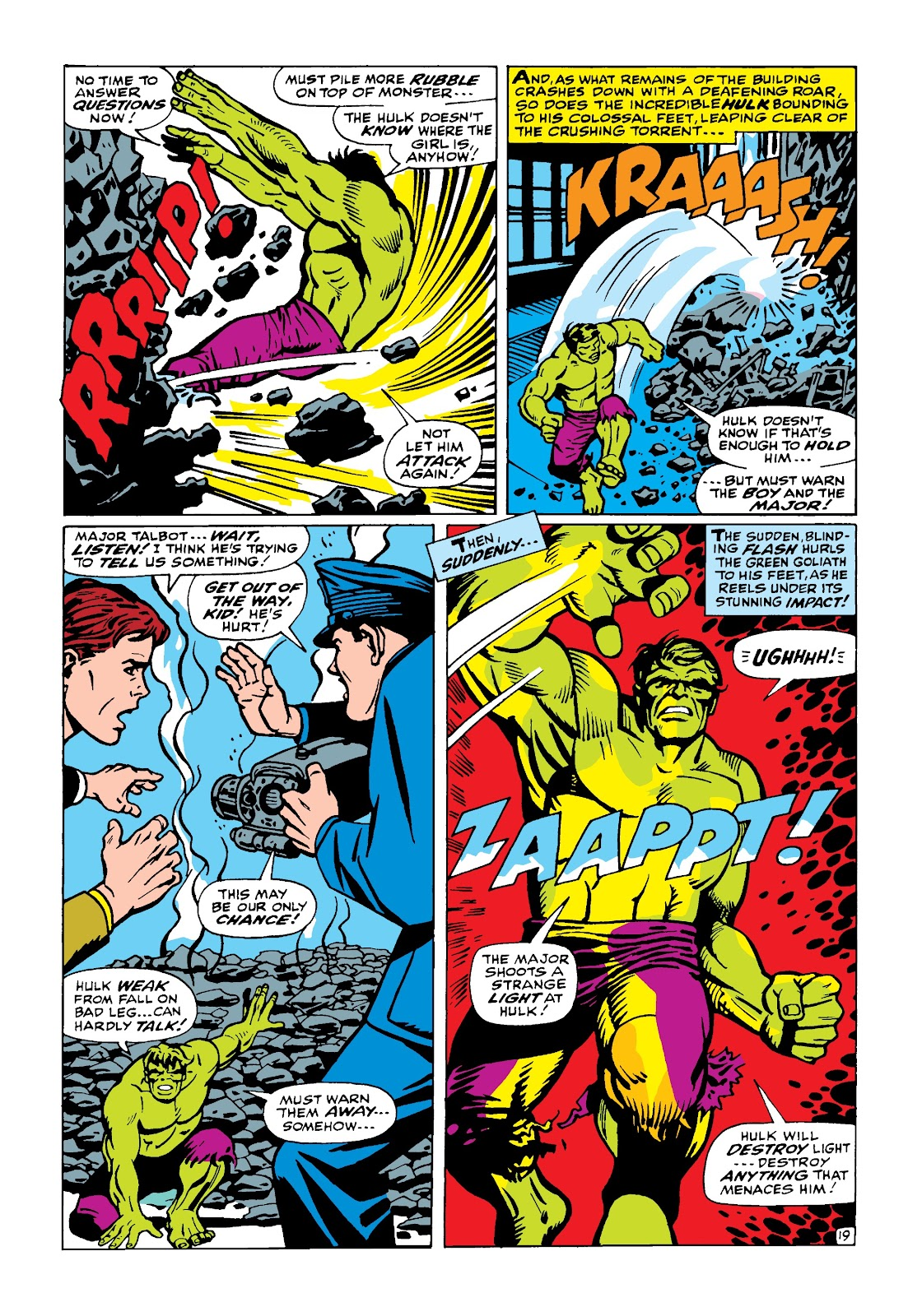 Read online Marvel Masterworks: The Incredible Hulk comic -  Issue # TPB 4 (Part 1) - 68