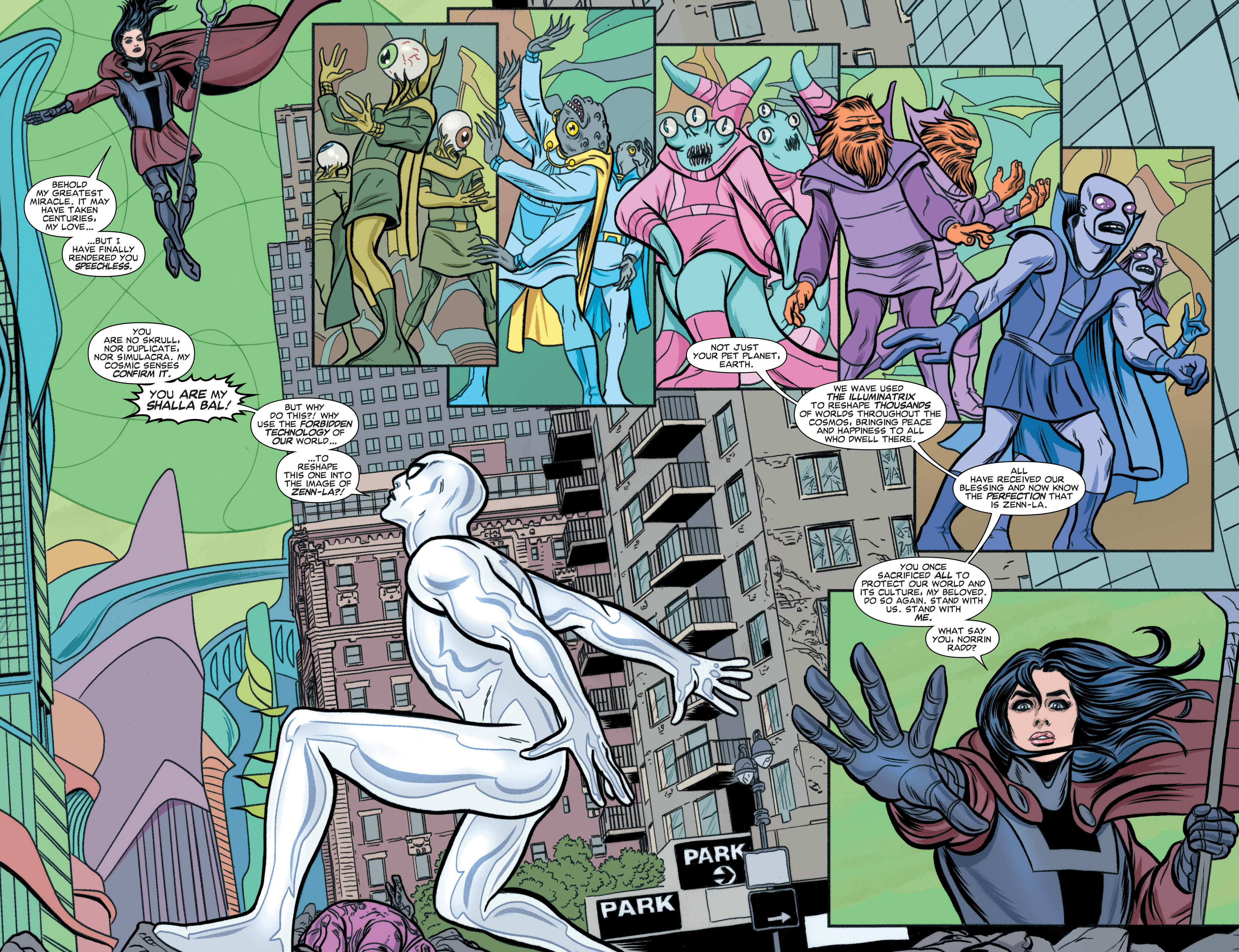 Read online Silver Surfer (2016) comic -  Issue #3 - 3