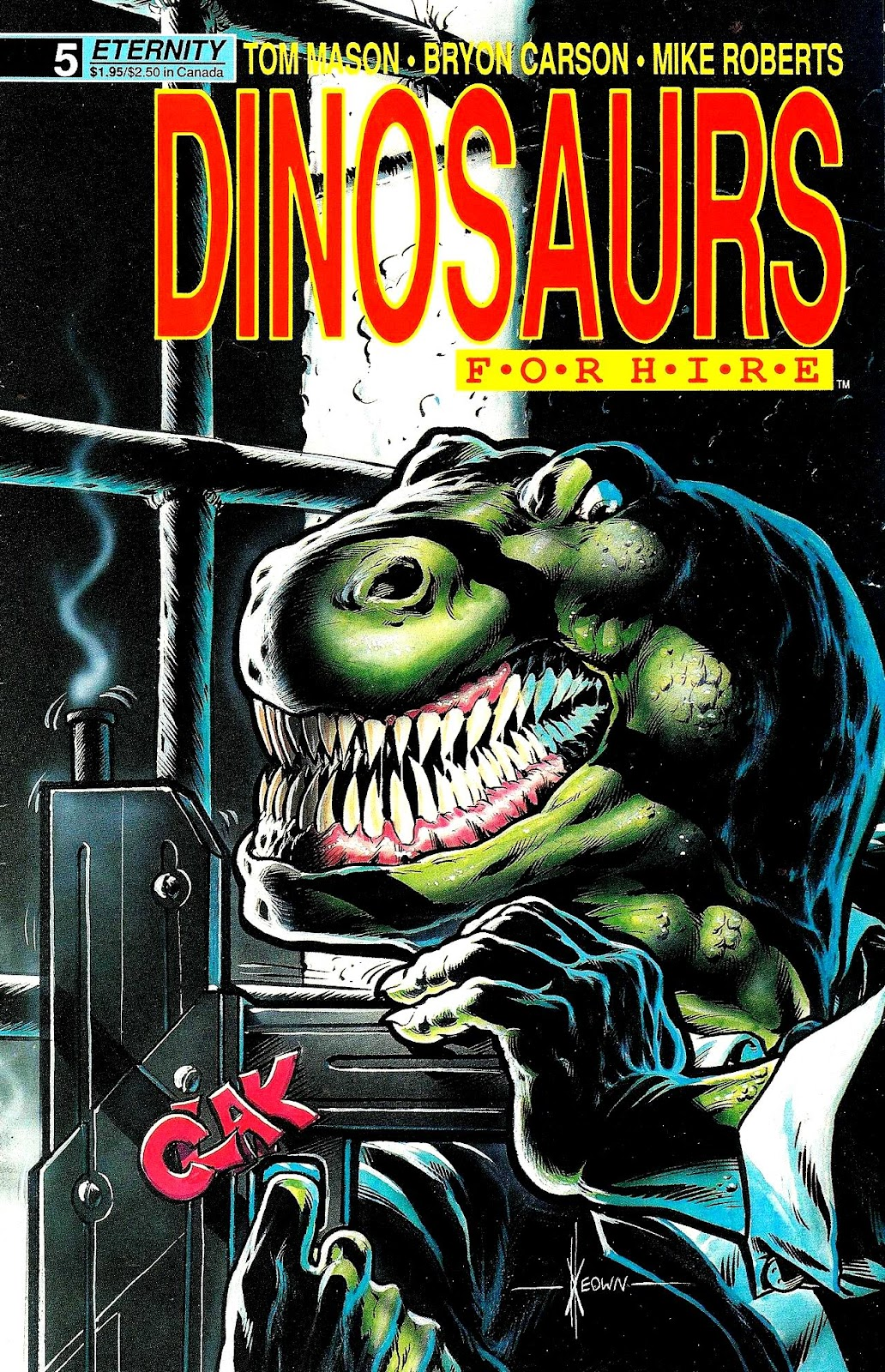 Dinosaurs For Hire (1988) issue 5 - Page 1