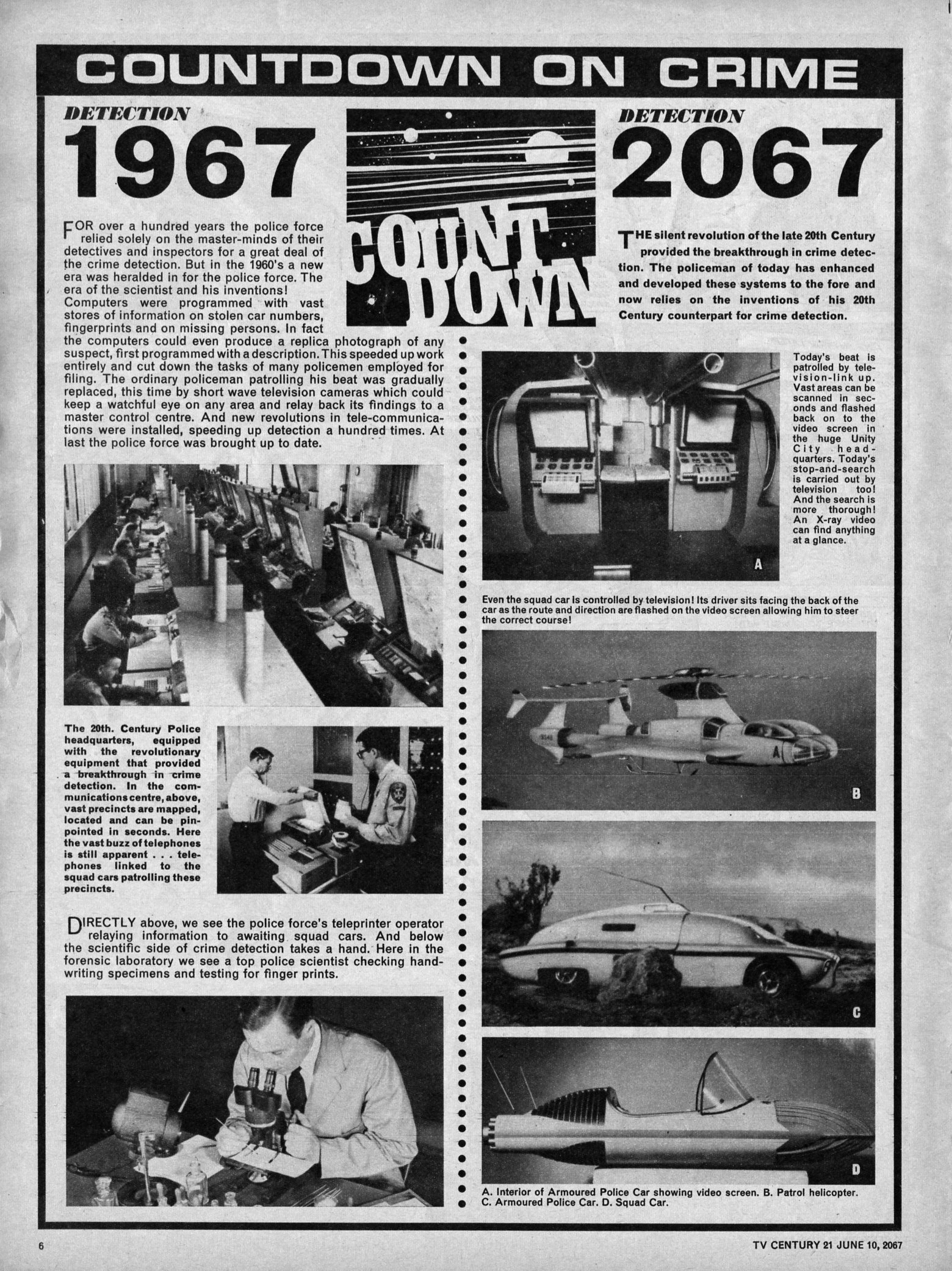 Read online TV Century 21 (TV 21) comic -  Issue #125 - 6