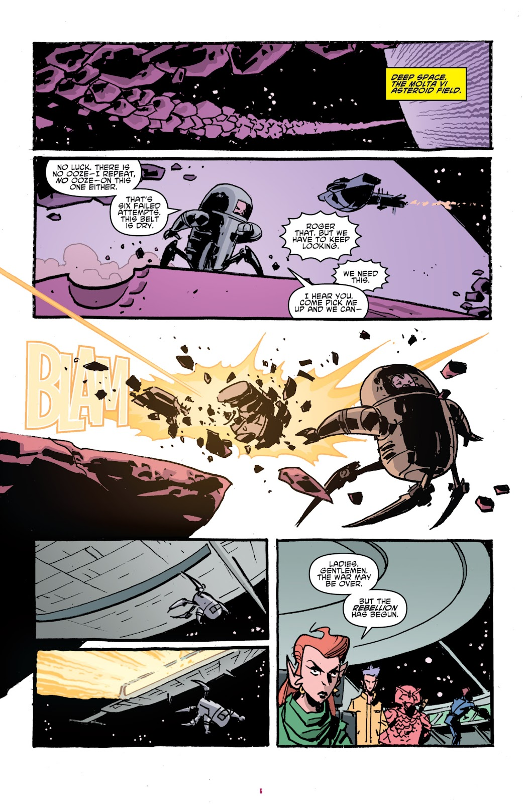 Read online Teenage Mutant Ninja Turtles: The IDW Collection comic -  Issue # TPB 4 (Part 1) - 35