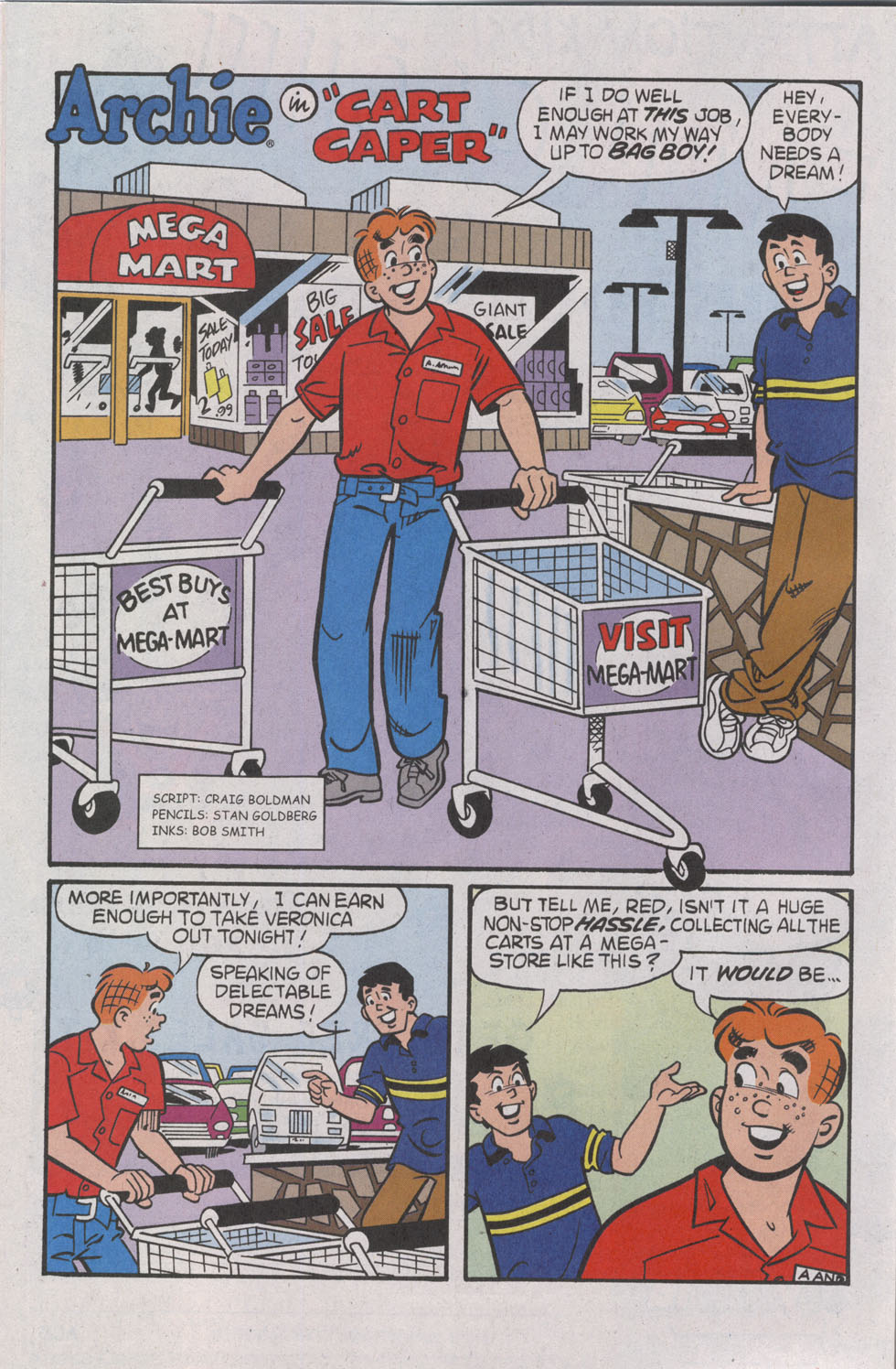 Read online Archie (1960) comic -  Issue #539 - 12