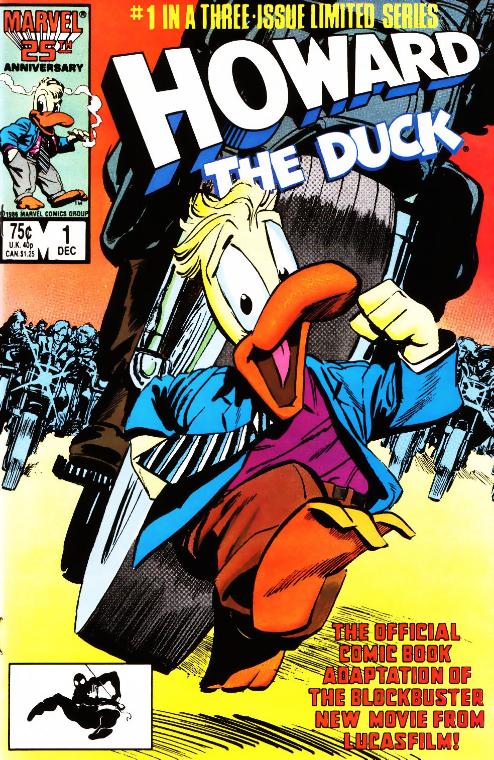 Howard The Duck: The Movie 1 Page 1