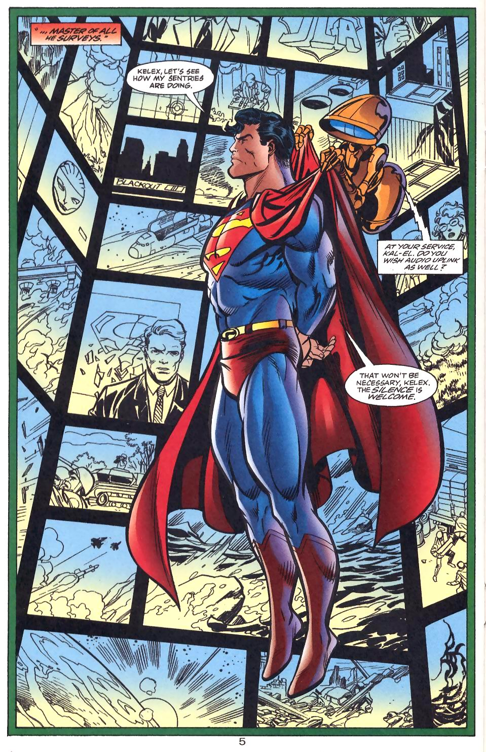 Read online Adventures of Superman (1987) comic -  Issue #566 - 6