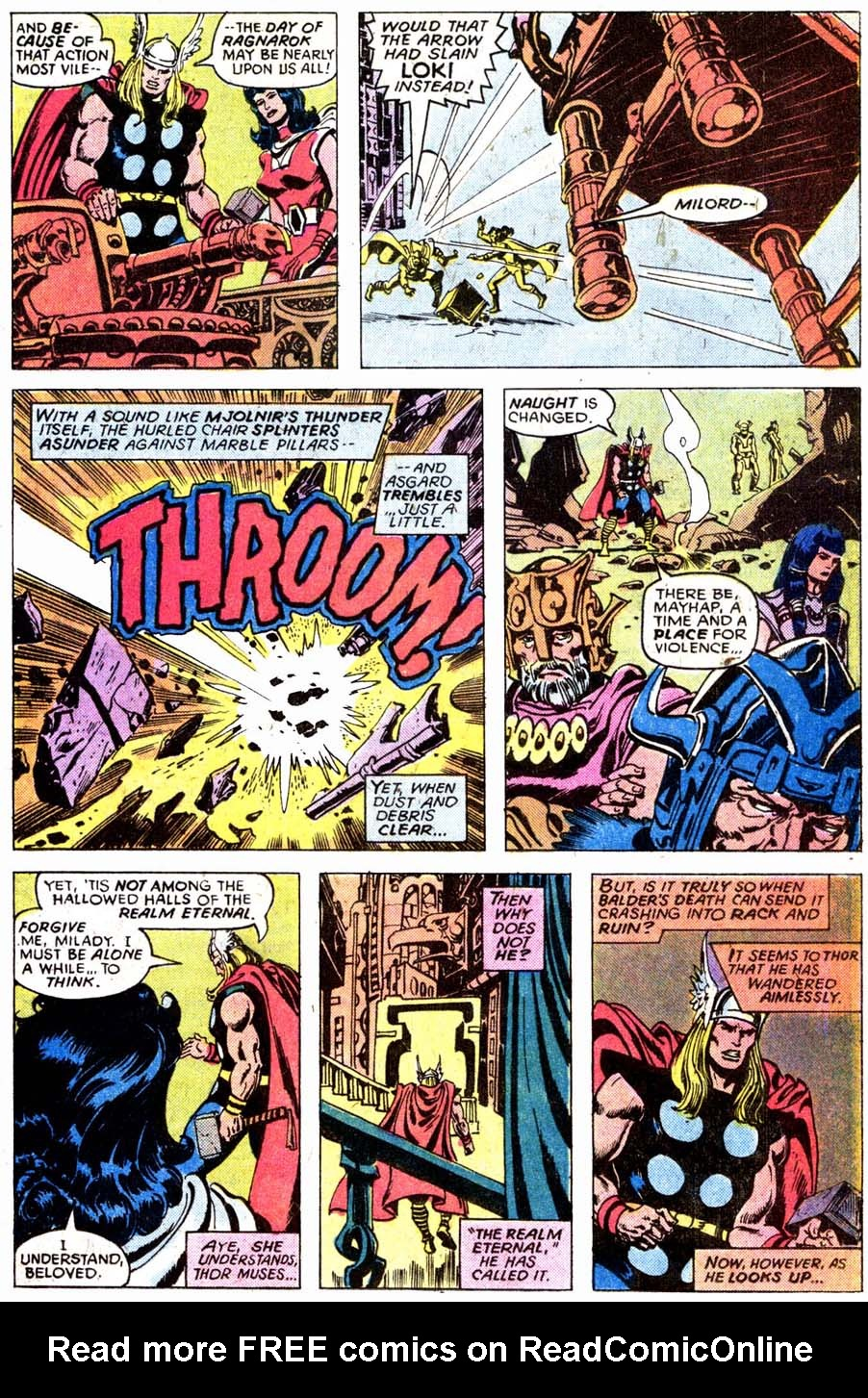 7 Muses Comics comic thor (1966) issue 7