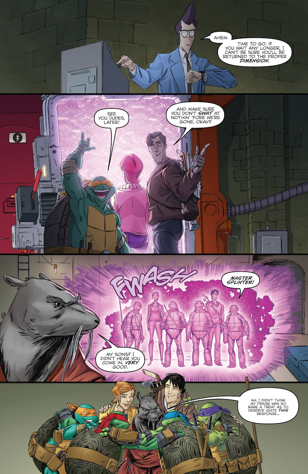 Read online Teenage Mutant Ninja Turtles: The IDW Collection comic -  Issue # TPB 5 (Part 3) - 61