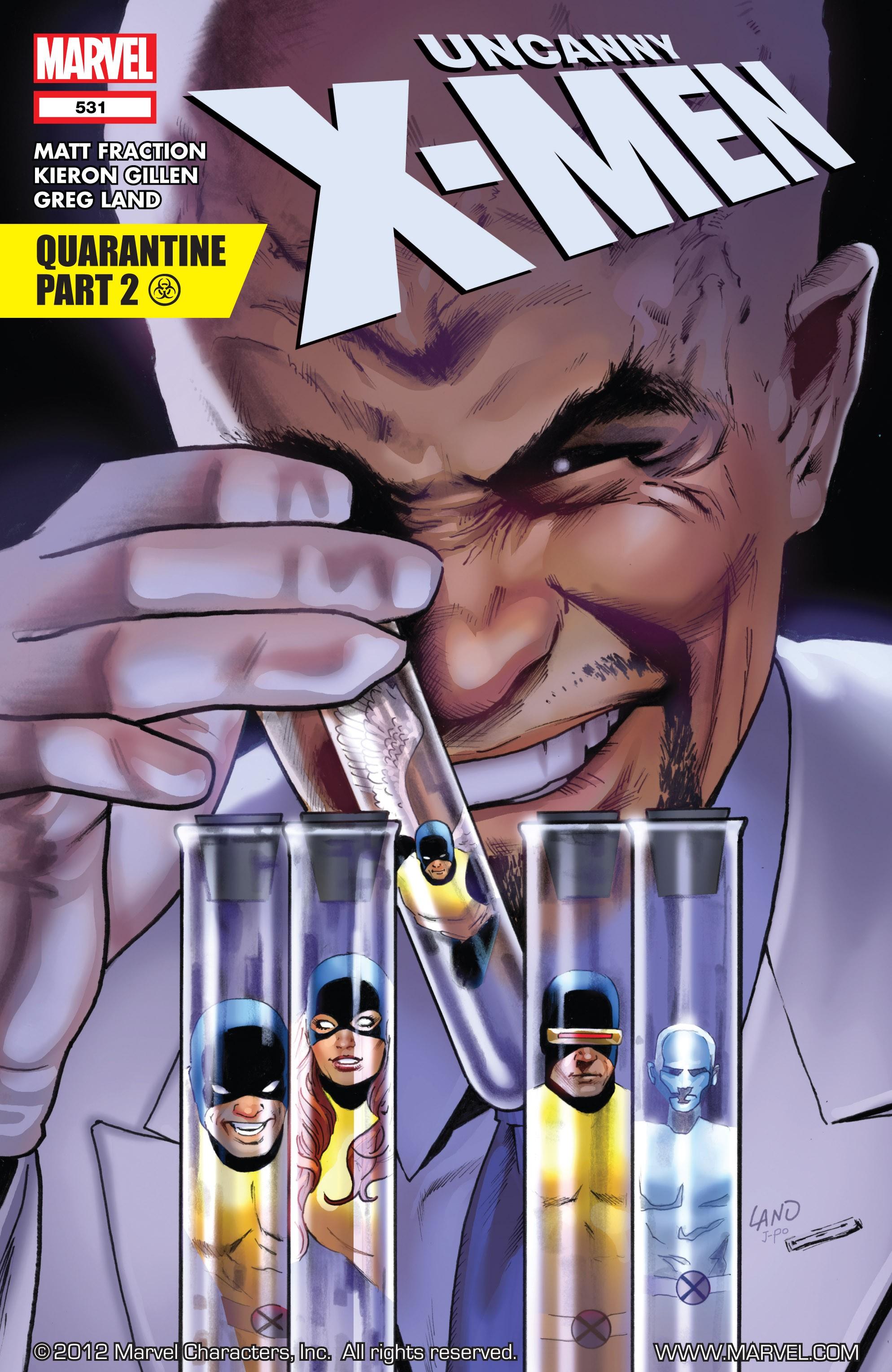 Read online Uncanny X-Men (1963) comic -  Issue #531 - 1
