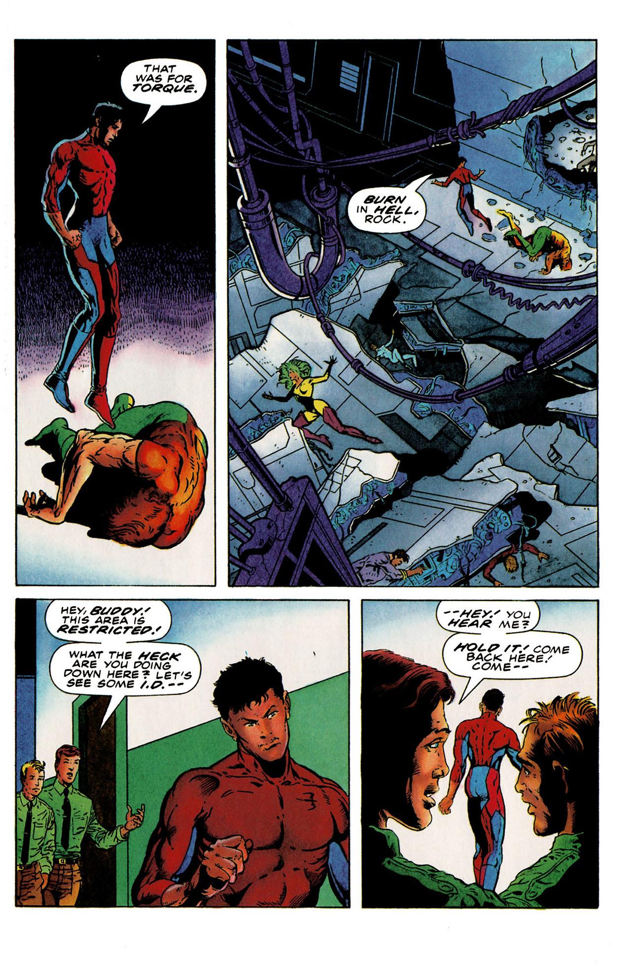 Read online Harbinger (1992) comic -  Issue #25 - 11