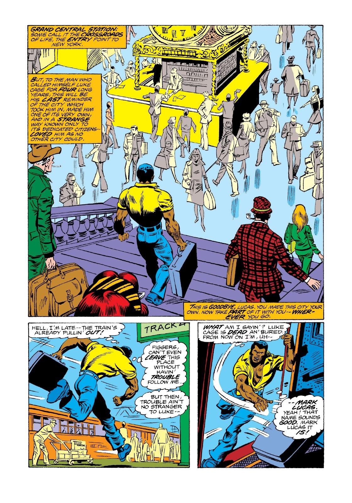 Read online Marvel Masterworks: Luke Cage, Power Man comic -  Issue # TPB 3 (Part 3) - 36