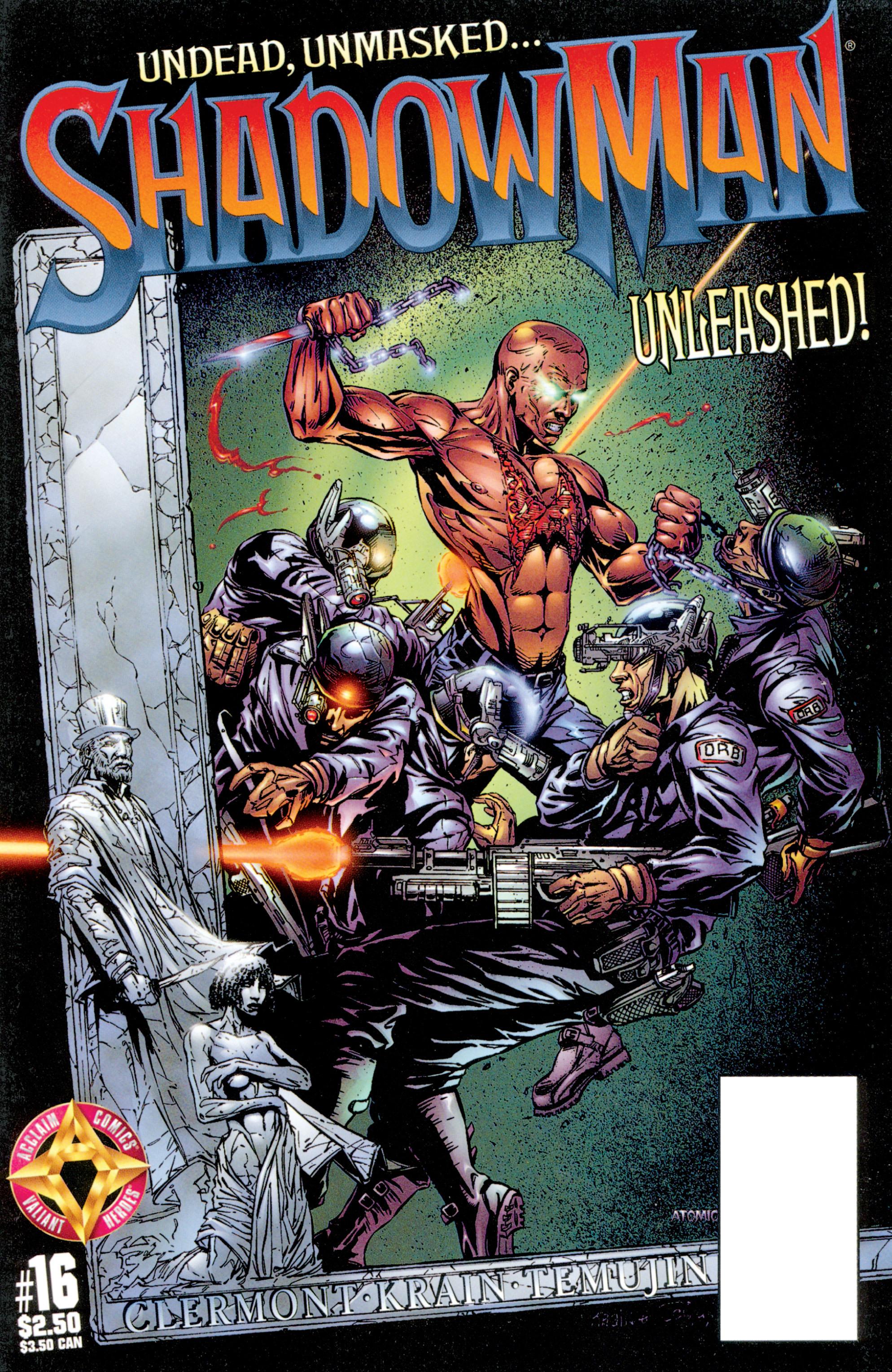 Read online Shadowman (1997) comic -  Issue #16 - 1