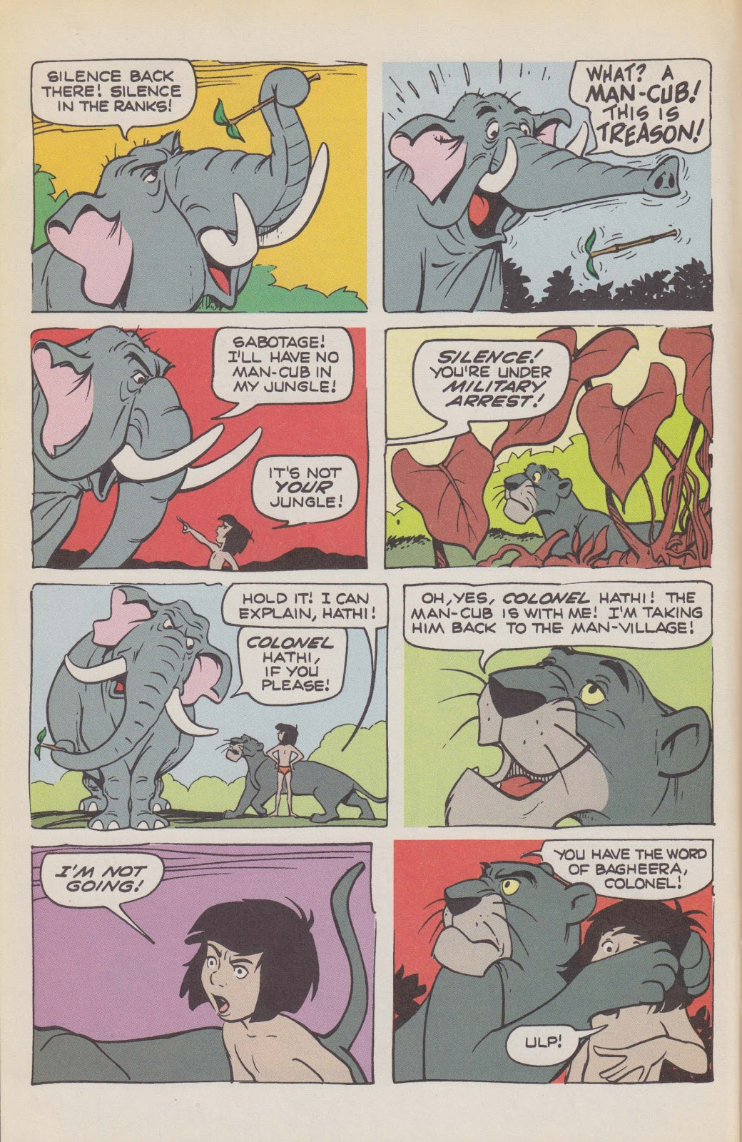 Read online The Jungle Book comic -  Issue # Full - 18