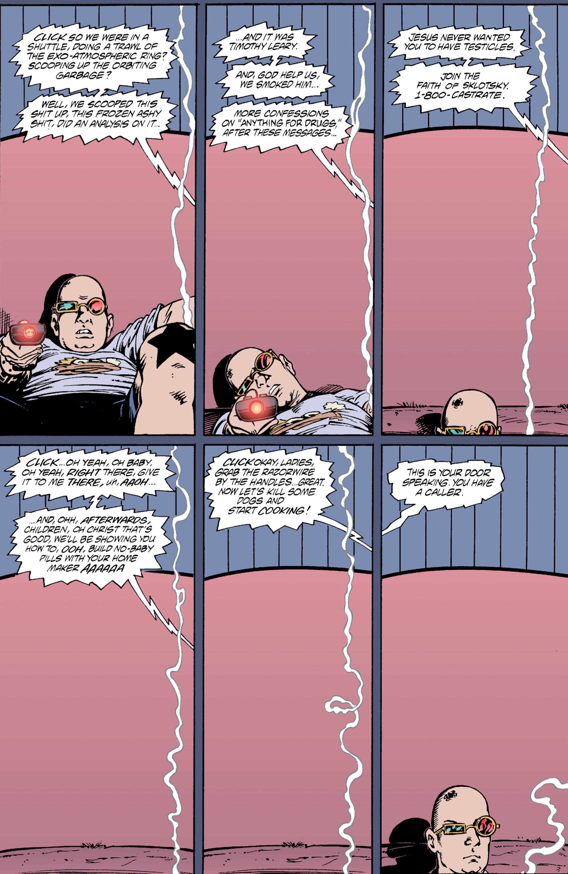 Read online Transmetropolitan comic -  Issue #5 - 12