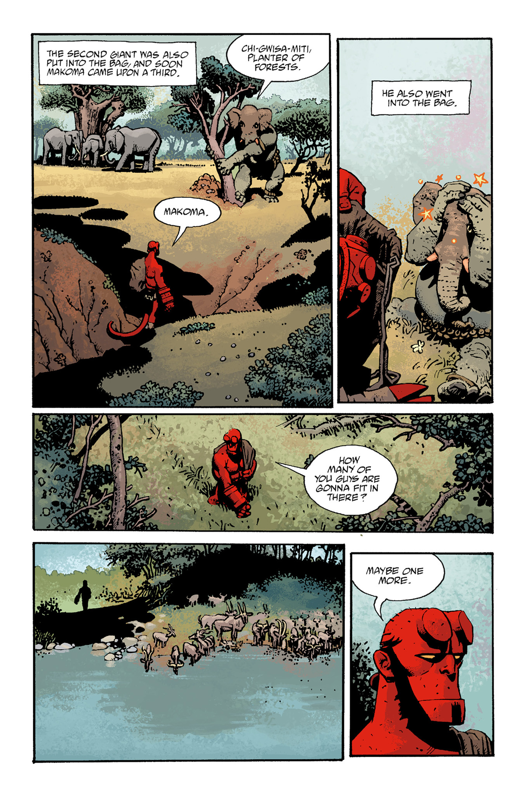 Read online Hellboy: The Troll Witch and Others comic -  Issue # TPB - 98