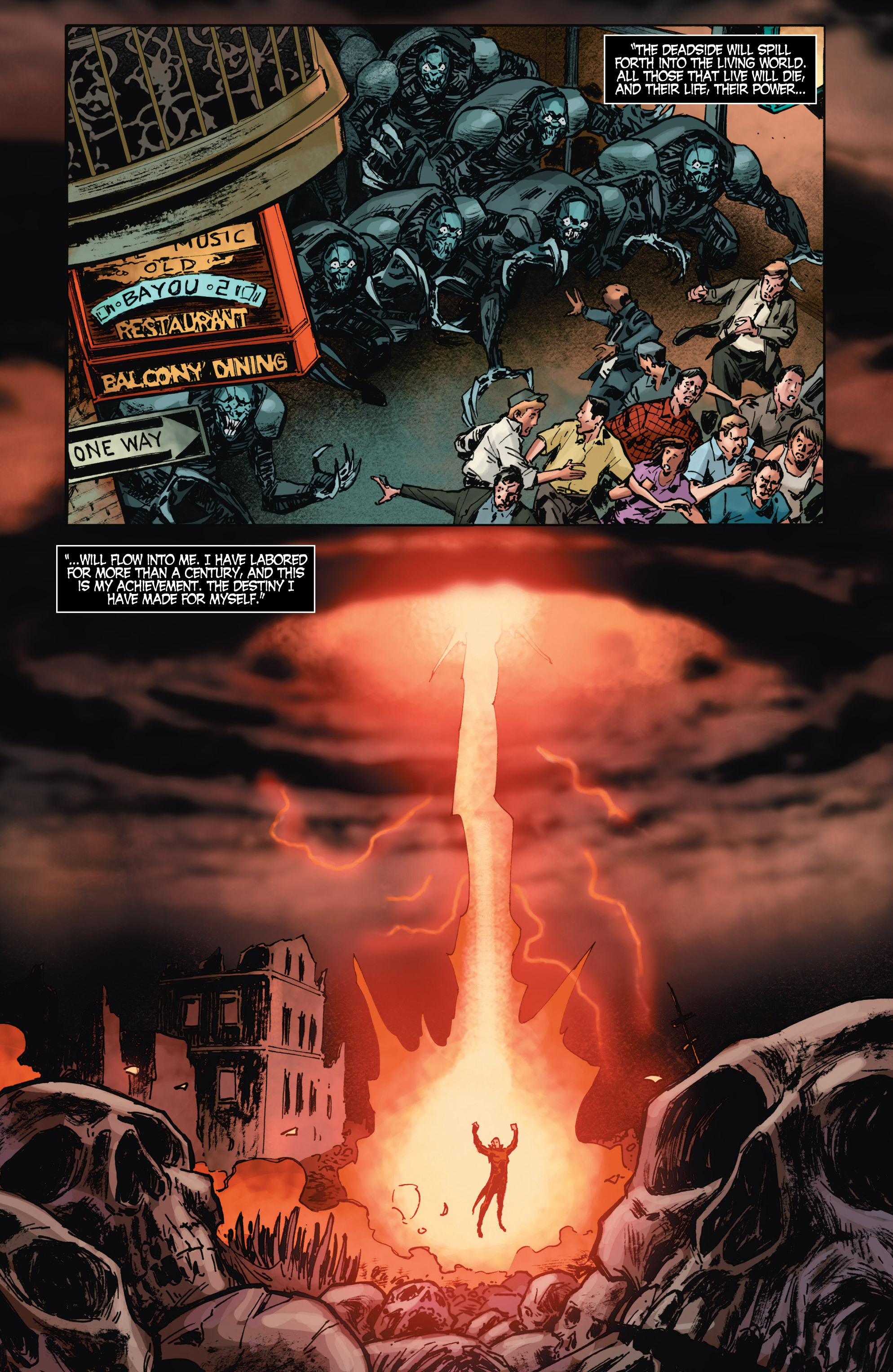 Read online Shadowman (2012) comic -  Issue #9 - 9