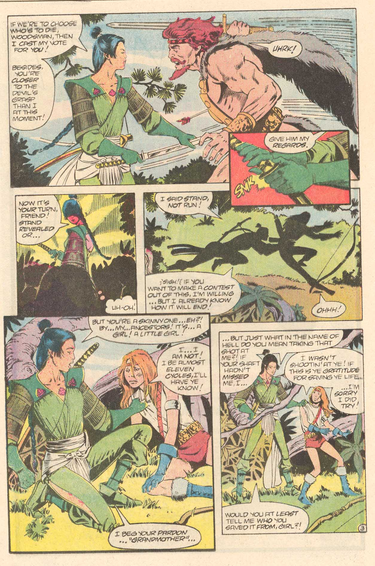 Read online Arion, Lord of Atlantis comic -  Issue #27 - 18