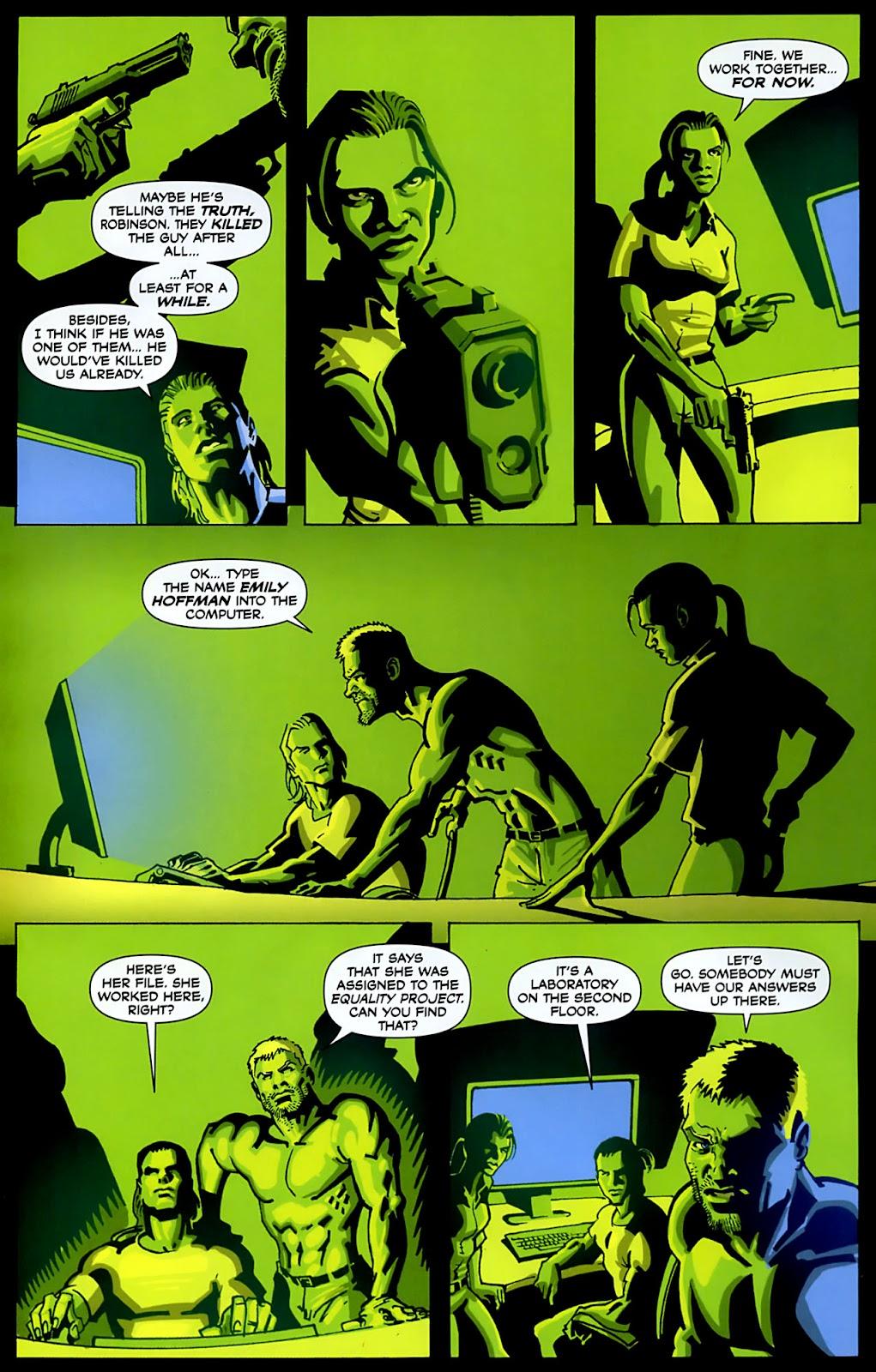 Read online Lazarus (2007) comic -  Issue #3 - 4