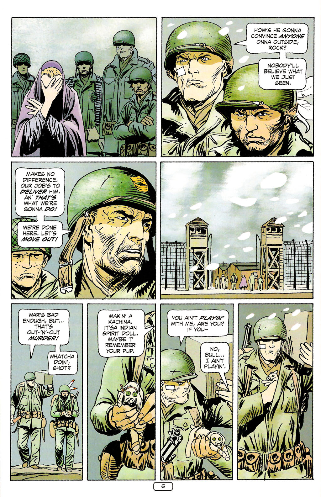 Read online Sgt. Rock: The Prophecy comic -  Issue #4 - 6