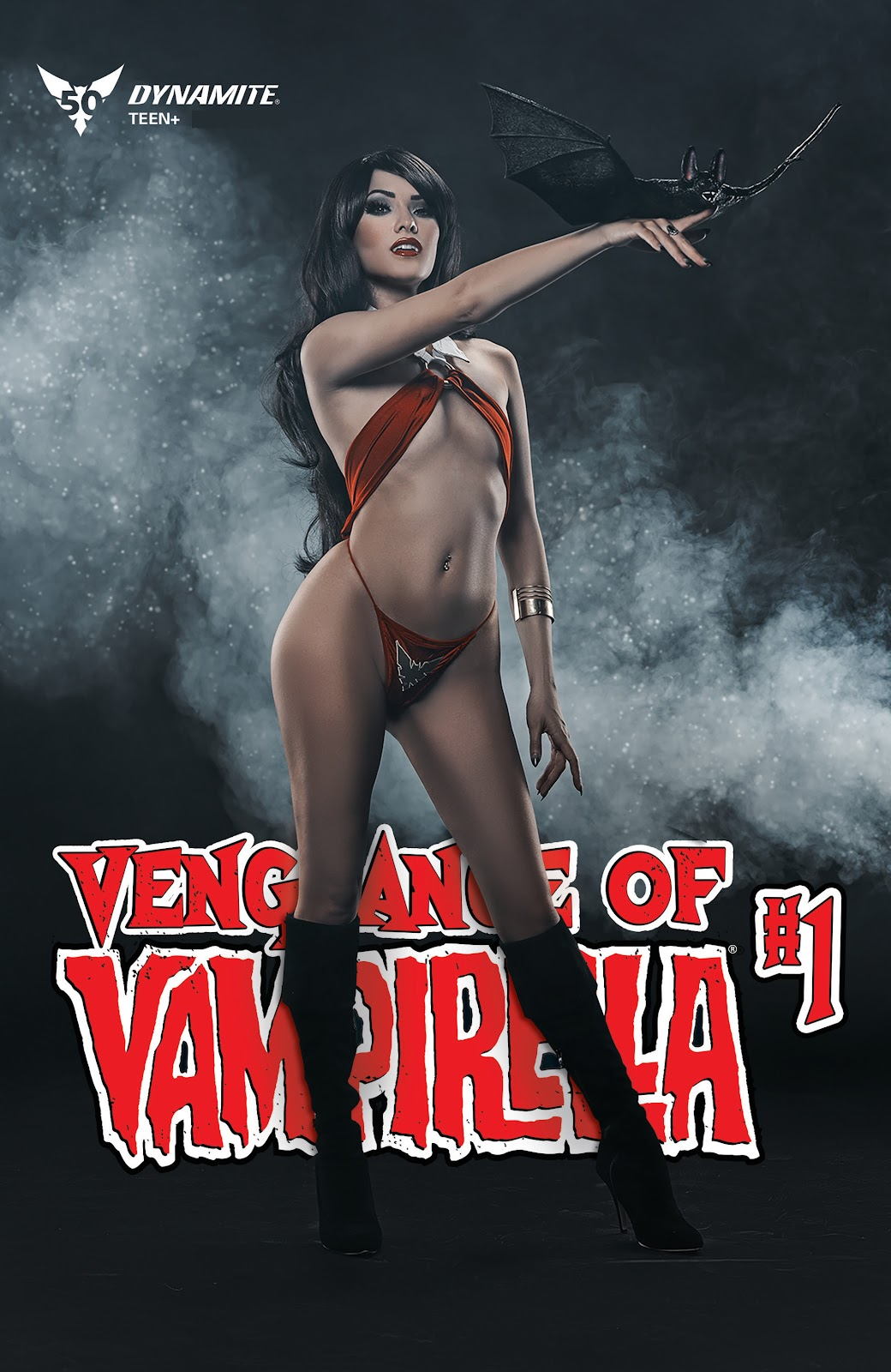 Read online Vengeance of Vampirella (2019) comic -  Issue #1 - 5