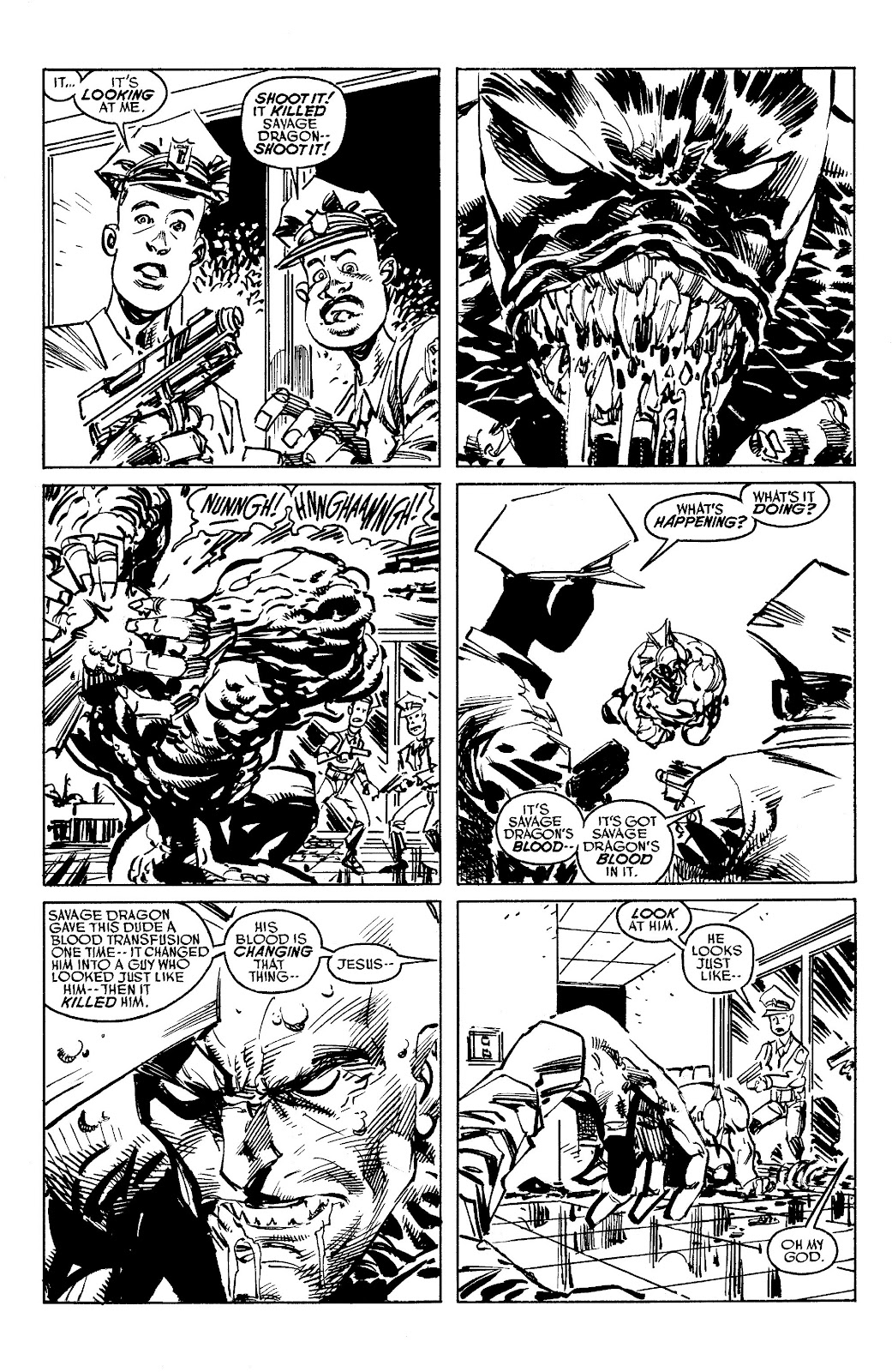 Read online Savage Dragon Archives comic -  Issue # TPB 6 (Part 5) - 31