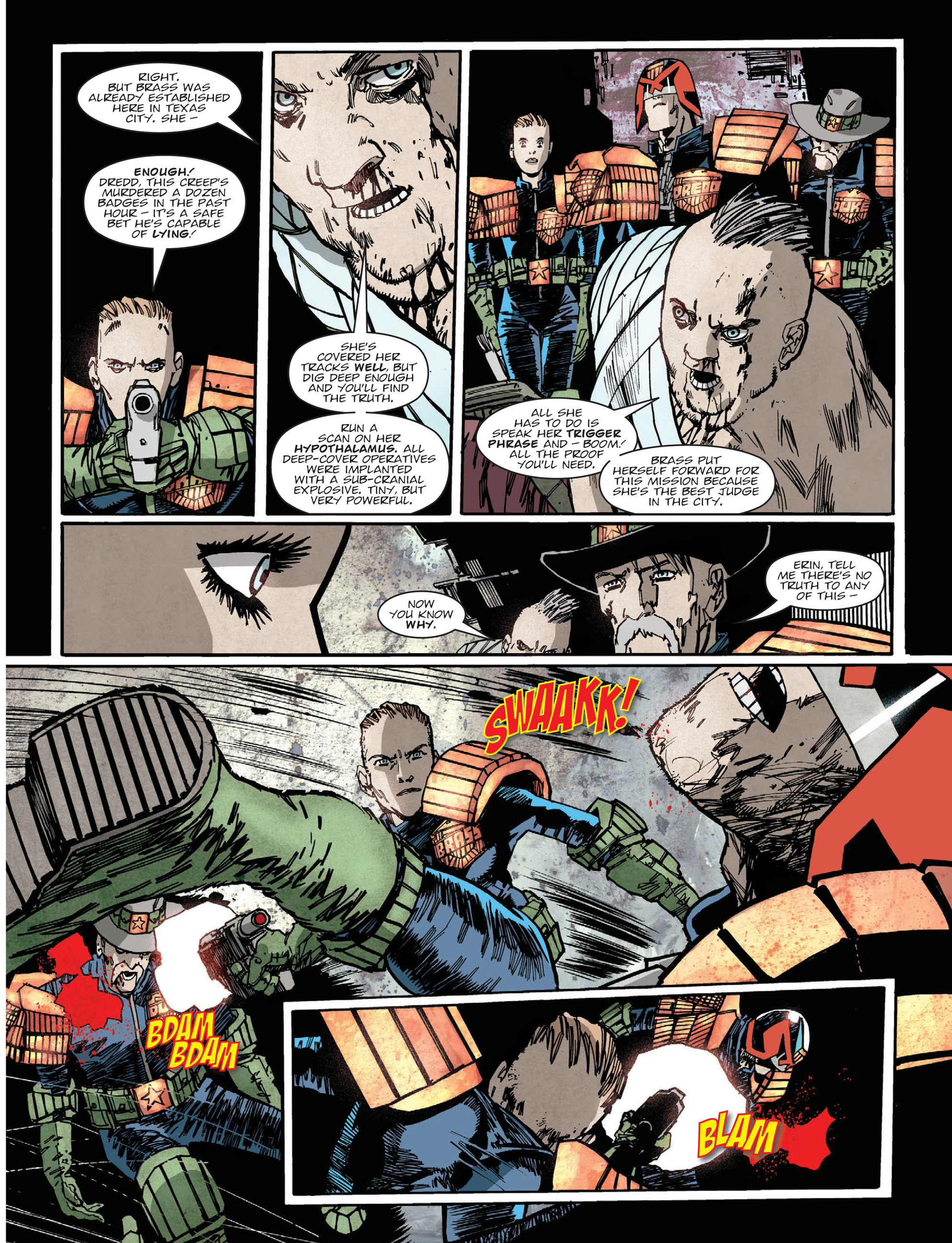 Read online 2000 AD comic -  Issue #2019 - 4