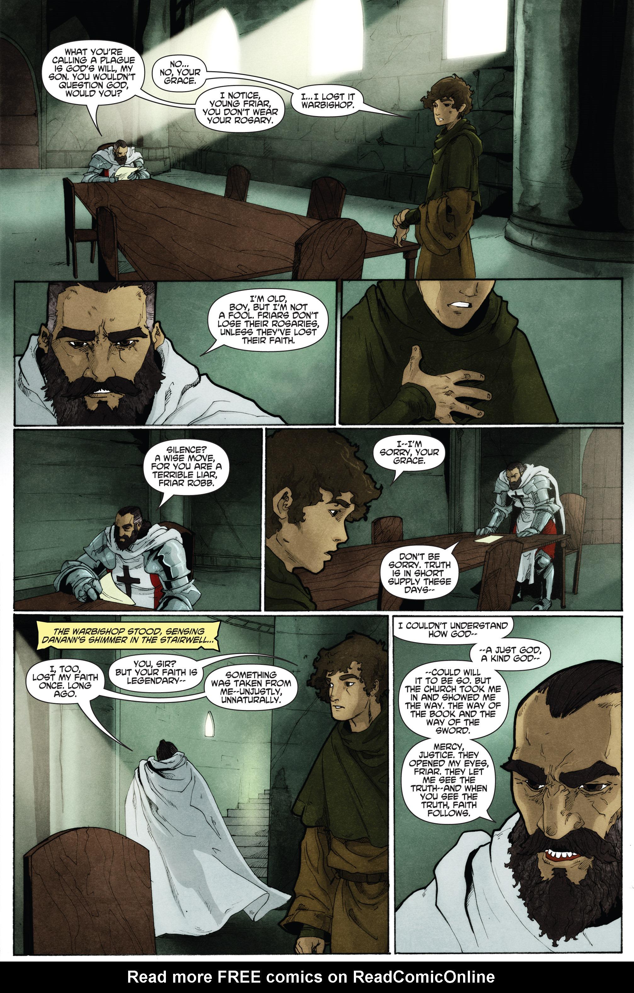 Read online Plague comic -  Issue #2 - 4