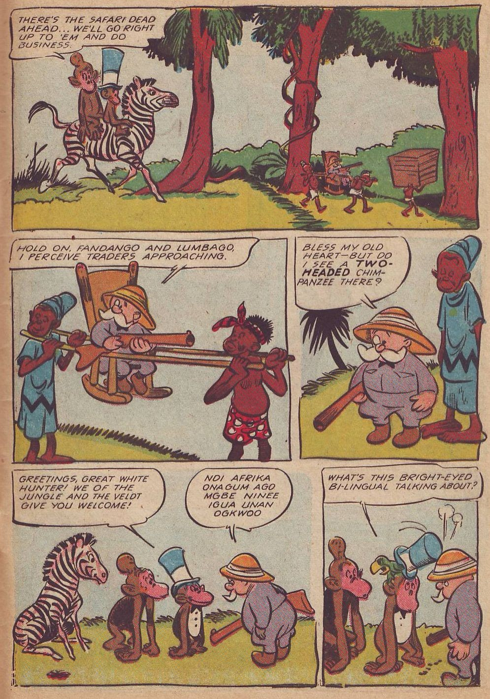 Read online Animal Comics comic -  Issue #23 - 43