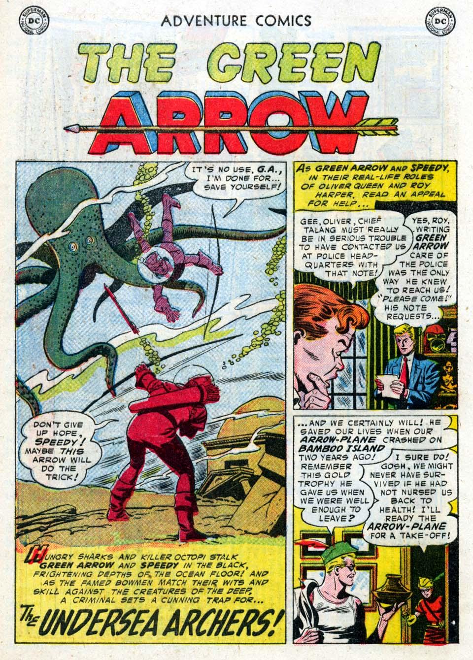 Read online Adventure Comics (1938) comic -  Issue #211 - 28