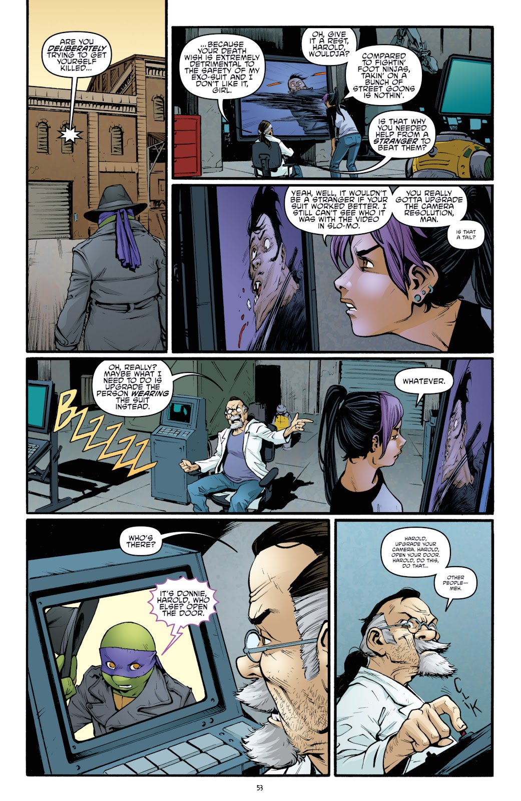 Read online Teenage Mutant Ninja Turtles: The IDW Collection comic -  Issue # TPB 5 (Part 2) - 30
