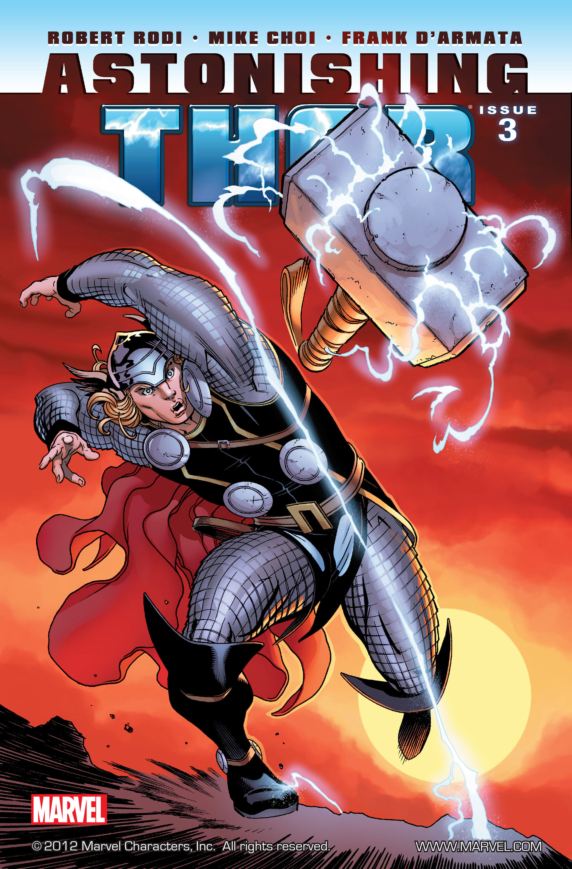 Read online Astonishing Thor comic -  Issue #3 - 1