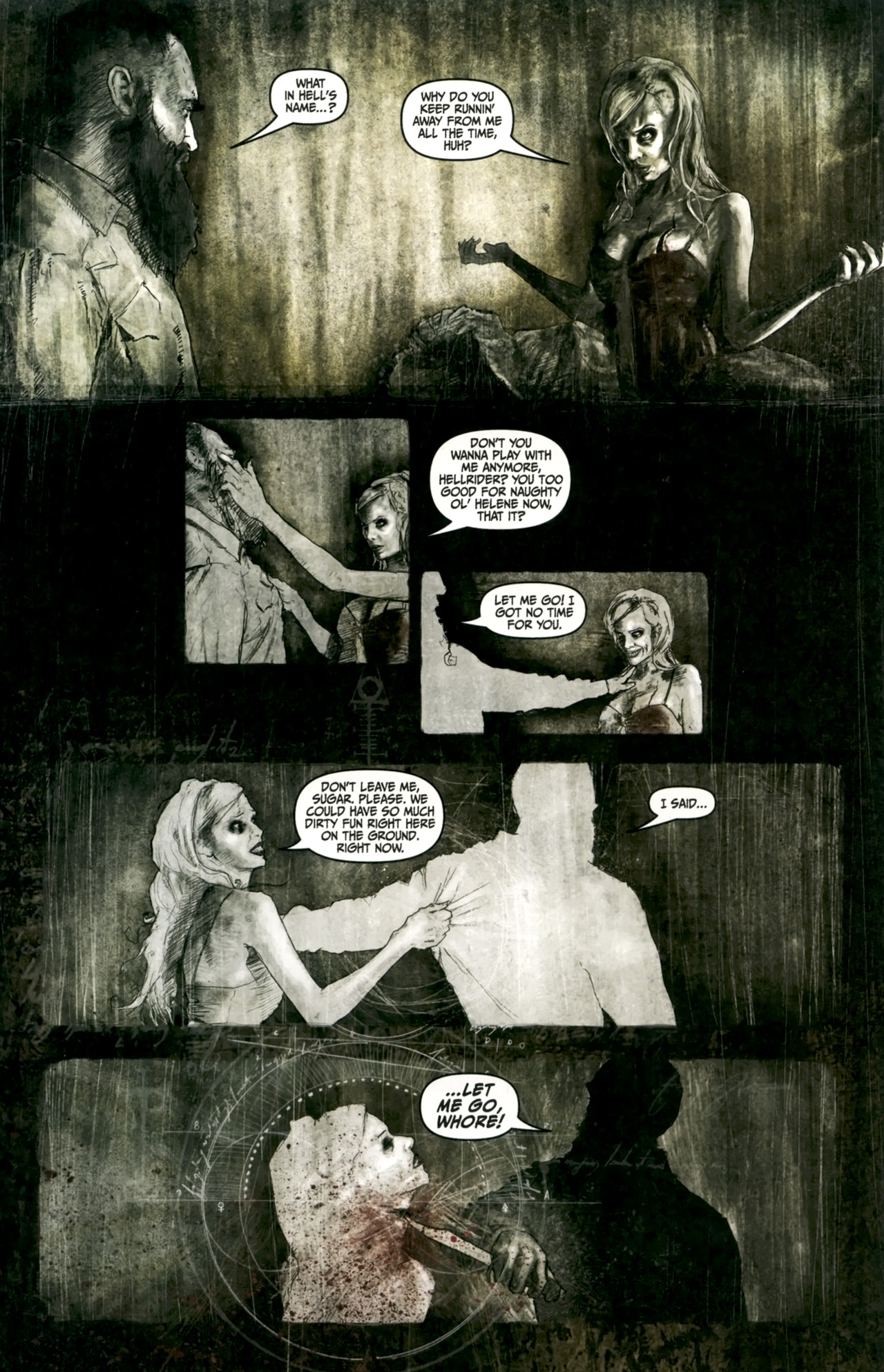 Read online Silent Hill: Past Life comic -  Issue #4 - 7