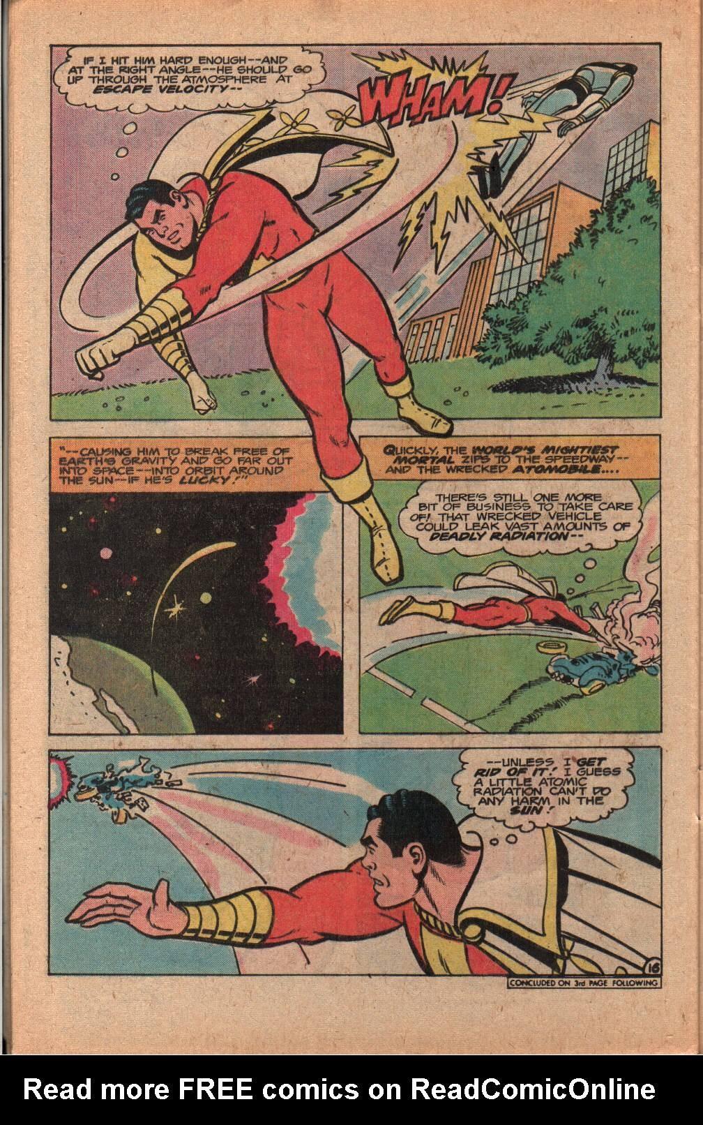 Read online Shazam! (1973) comic -  Issue #33 - 28