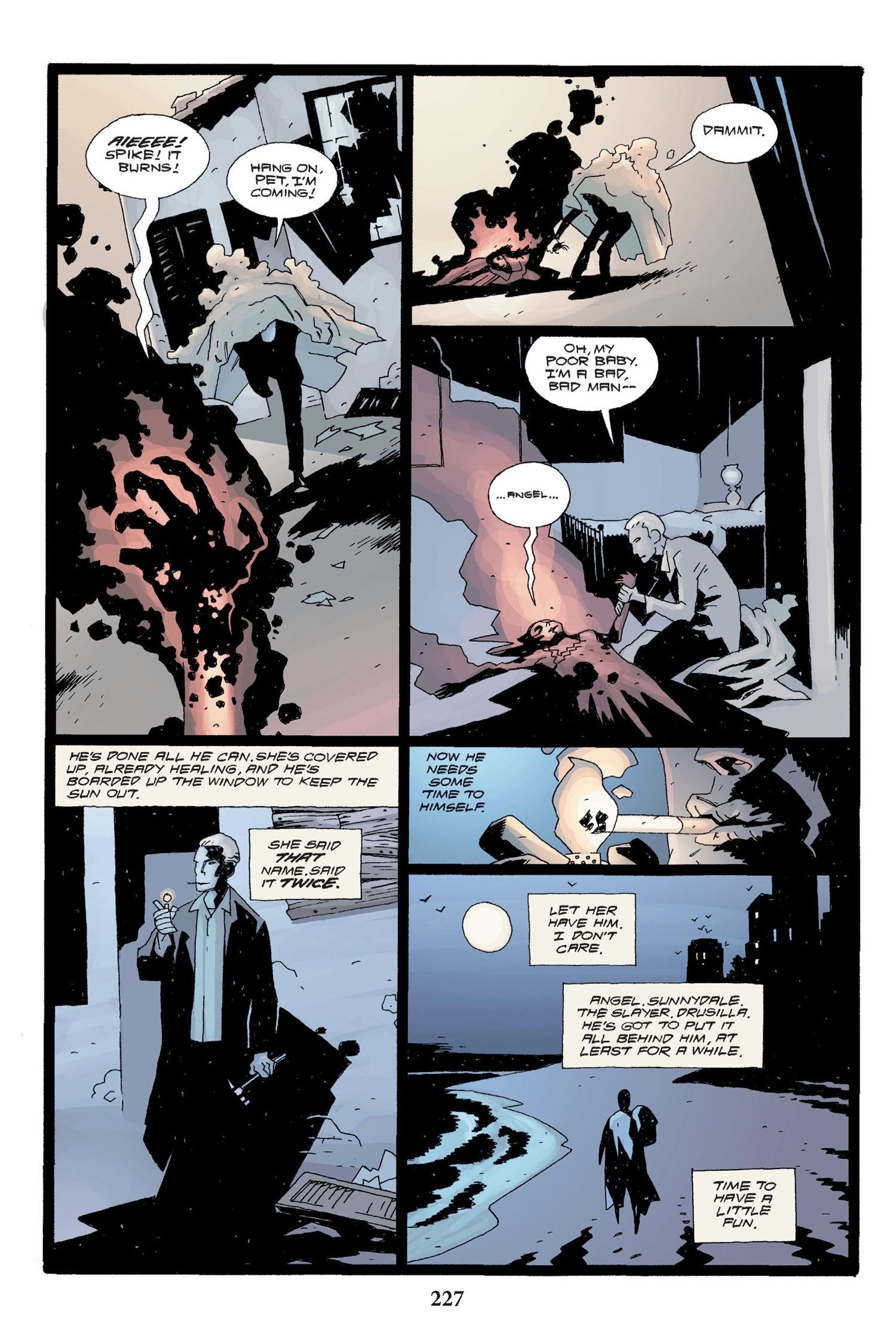 Read online Buffy the Vampire Slayer: Omnibus comic -  Issue # TPB 2 - 220