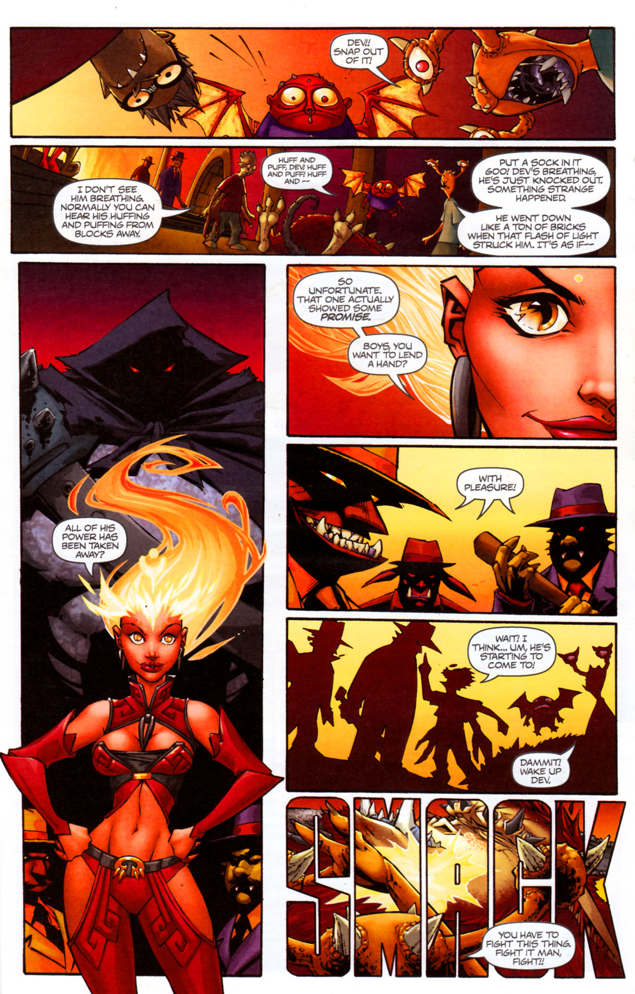 Read online Shrugged (2006) comic -  Issue #7 - 9
