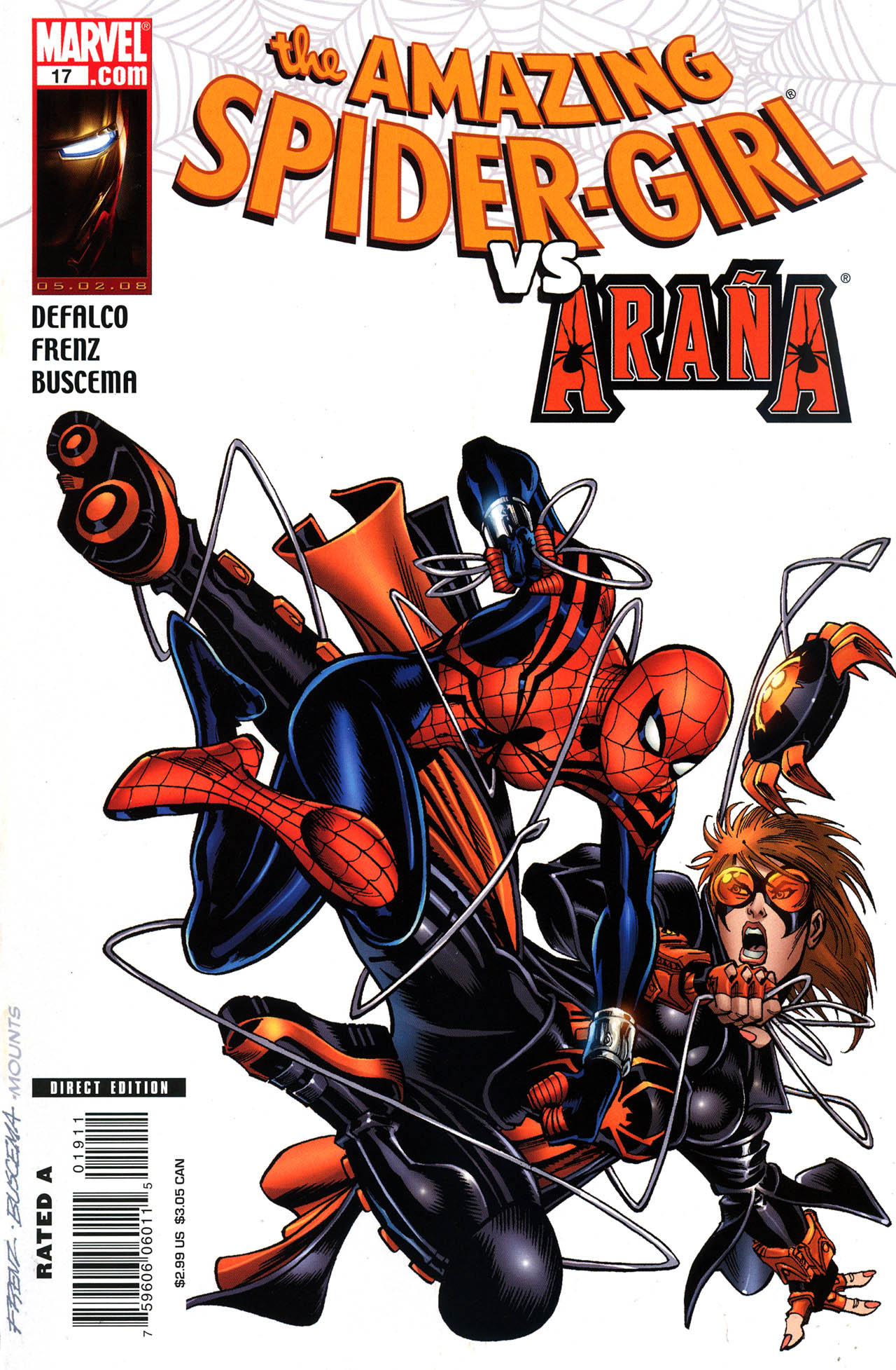Read online Amazing Spider-Girl comic -  Issue #19 - 1