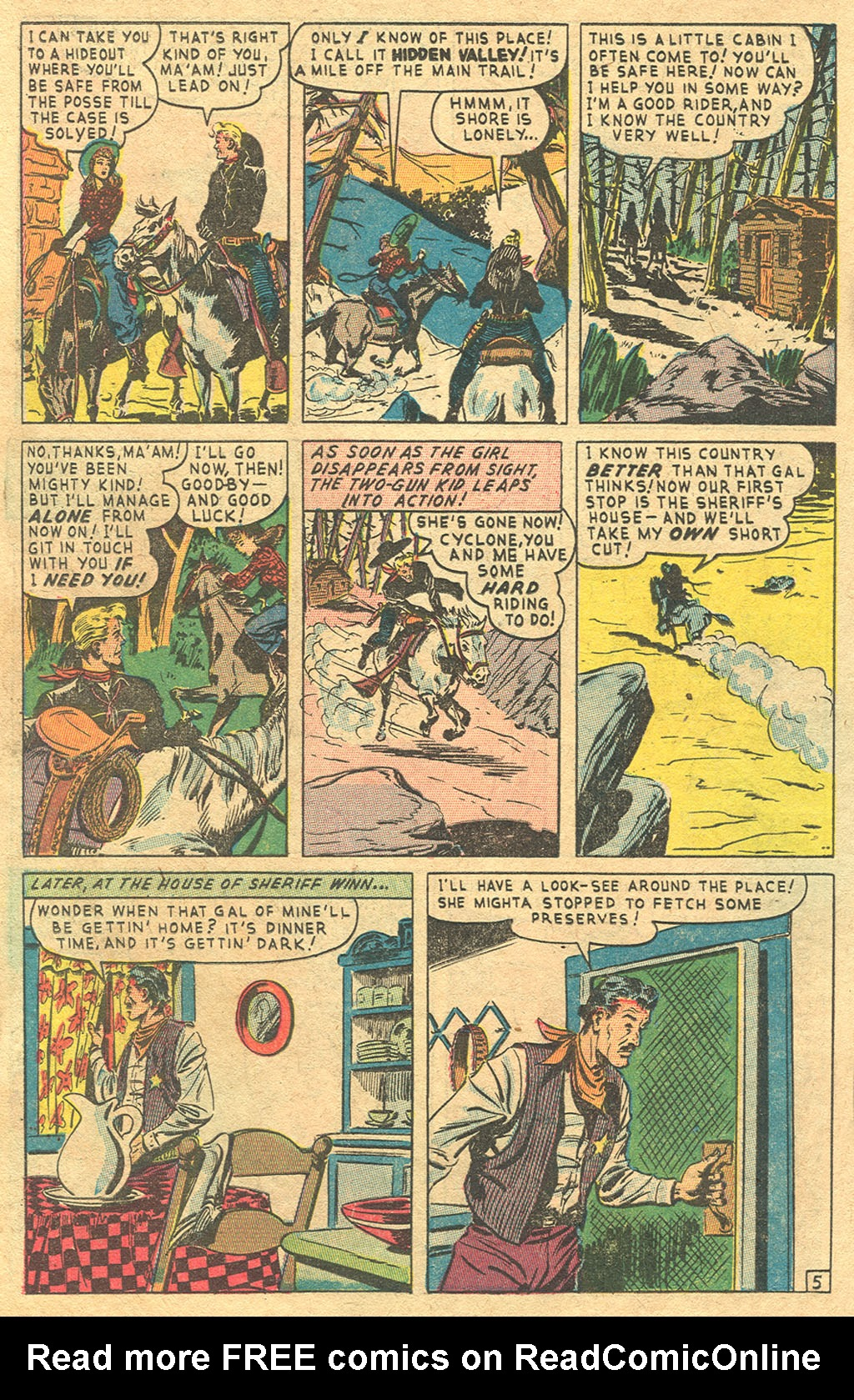 Read online Two-Gun Kid comic -  Issue #1 - 26
