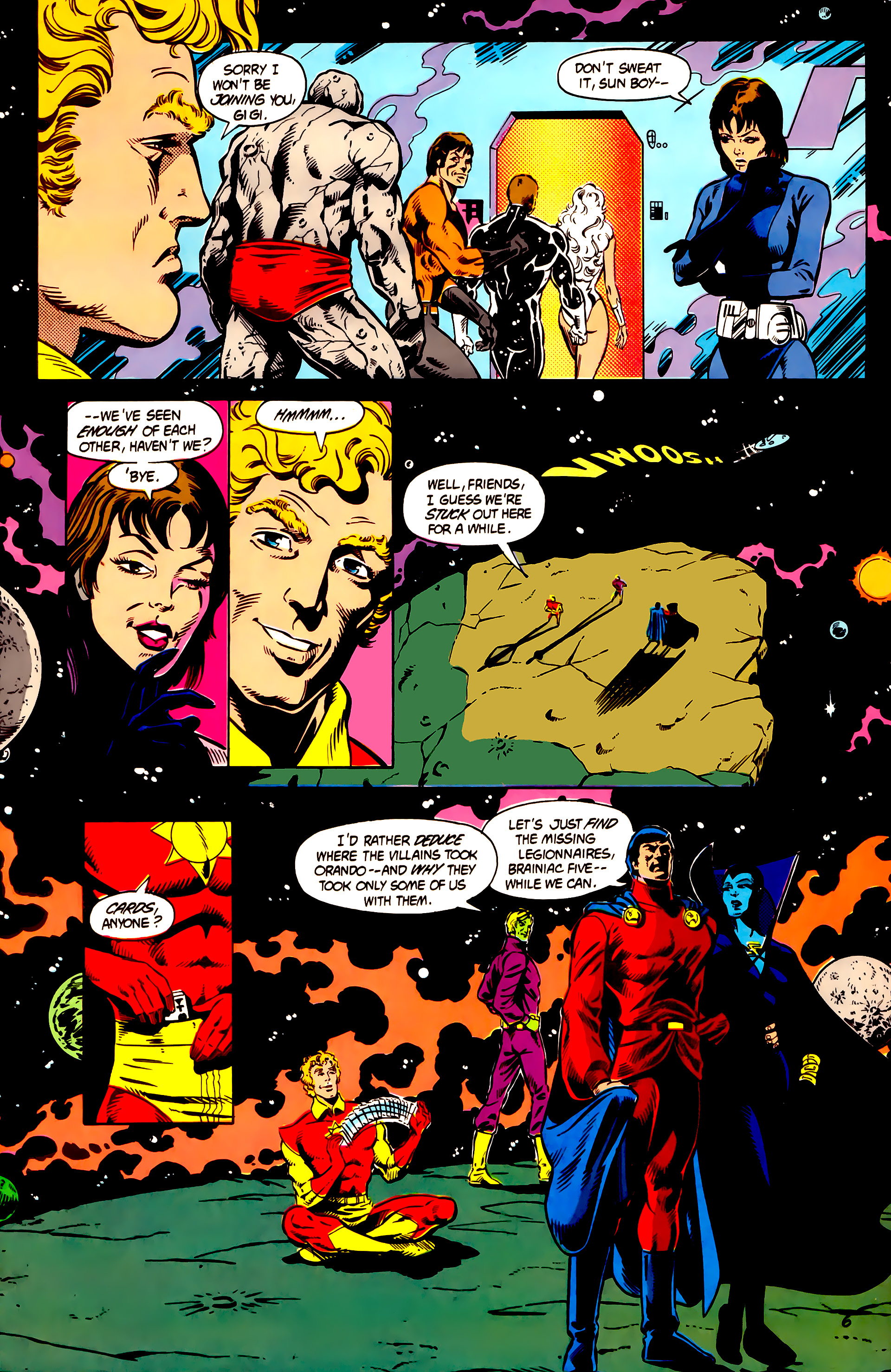 Legion of Super-Heroes (1984) 5 Page 7