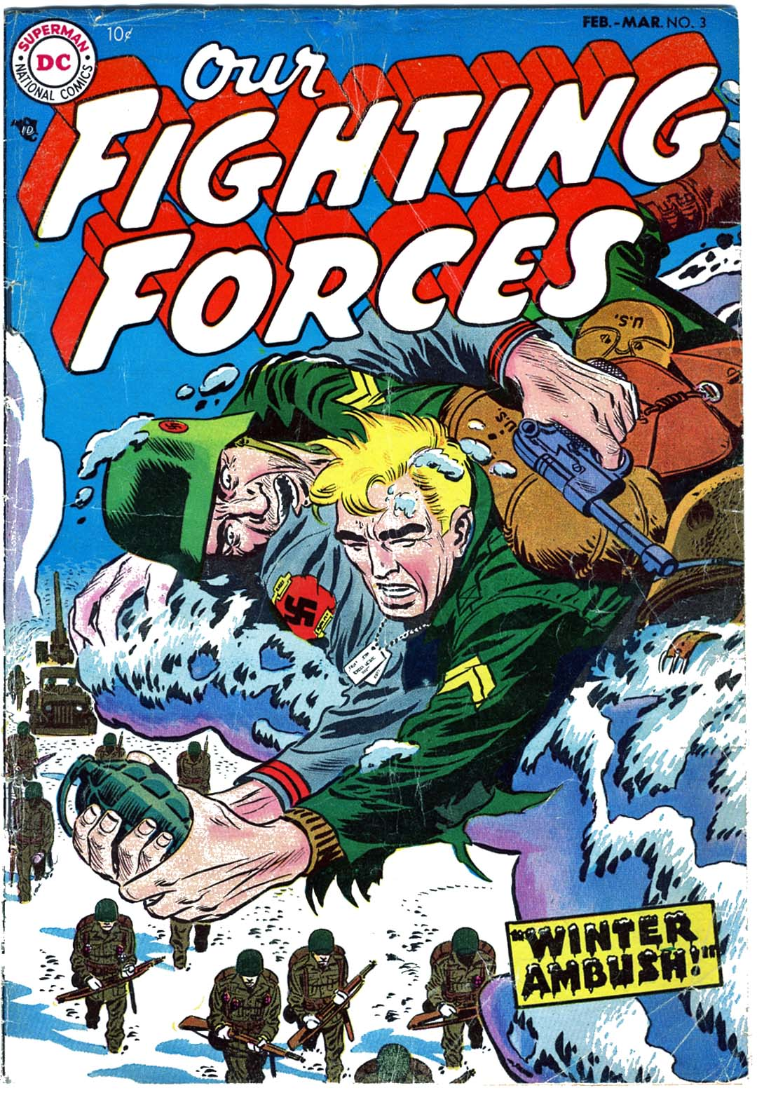 Our Fighting Forces (1954) issue 3 - Page 1
