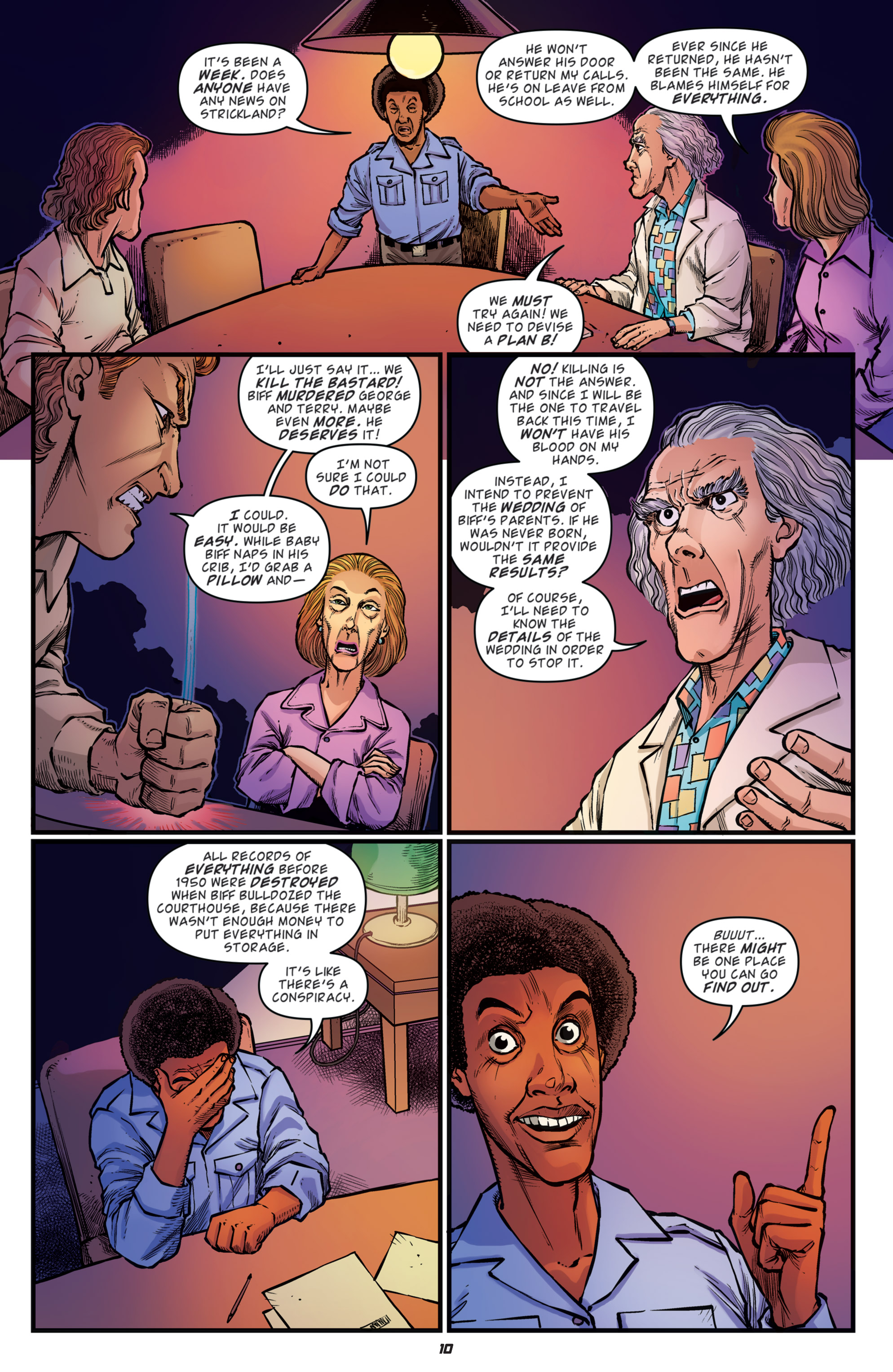 Read online Back to the Future: Biff to the Future comic -  Issue #5 - 12