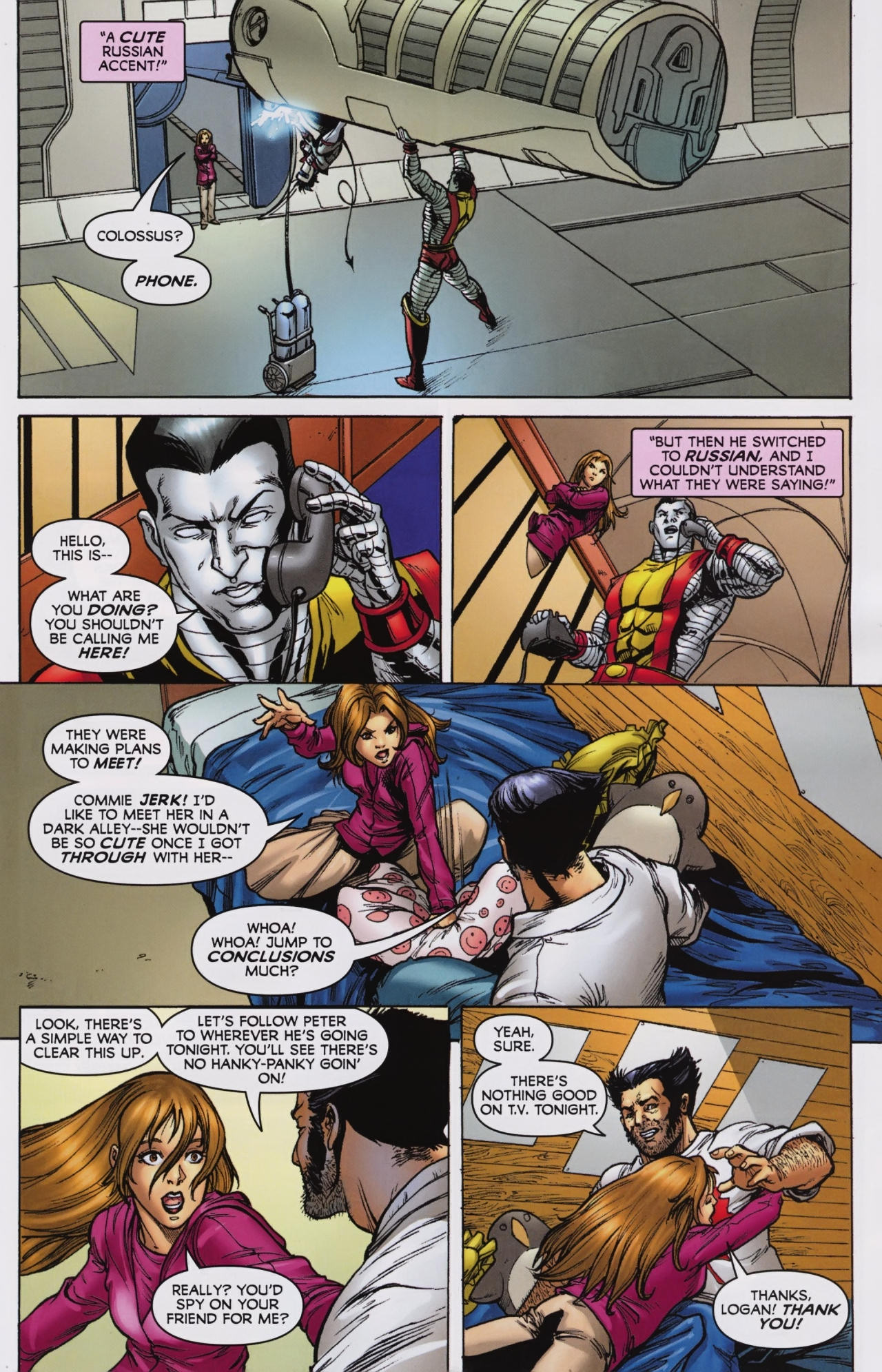 Read online Wolverine: First Class comic -  Issue #7 - 7