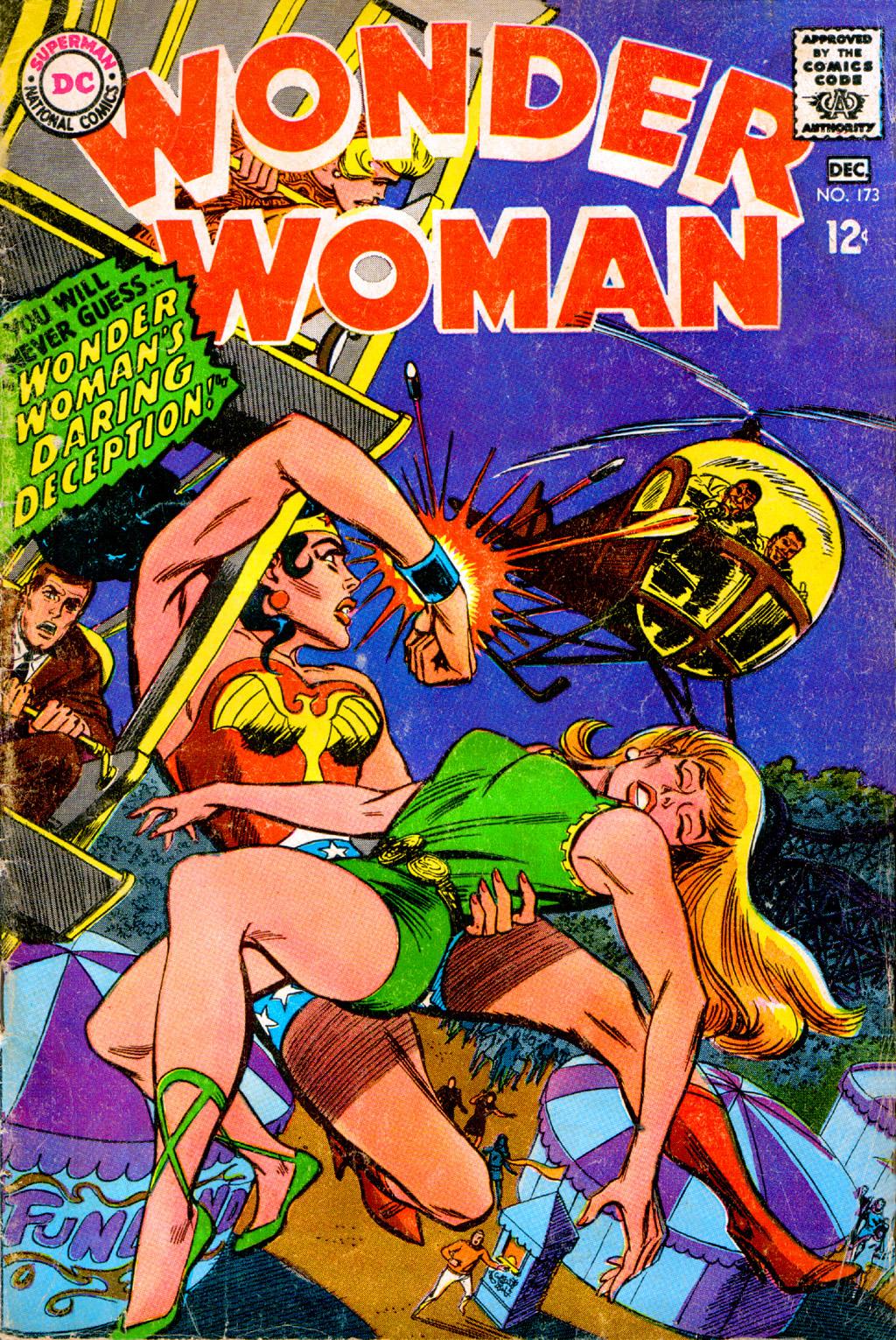Read online Wonder Woman (1942) comic -  Issue #173 - 1