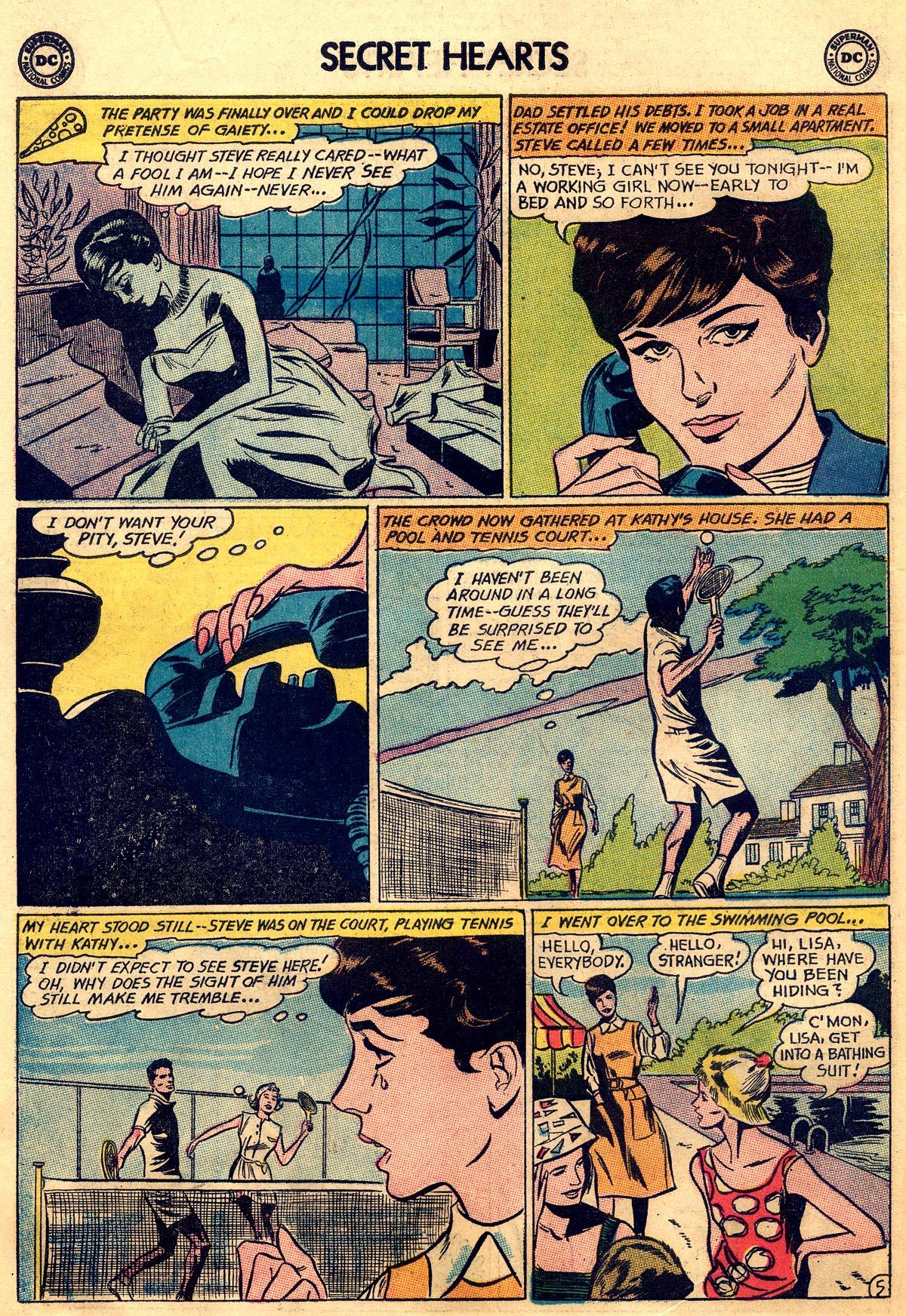 Read online Secret Hearts comic -  Issue #93 - 14