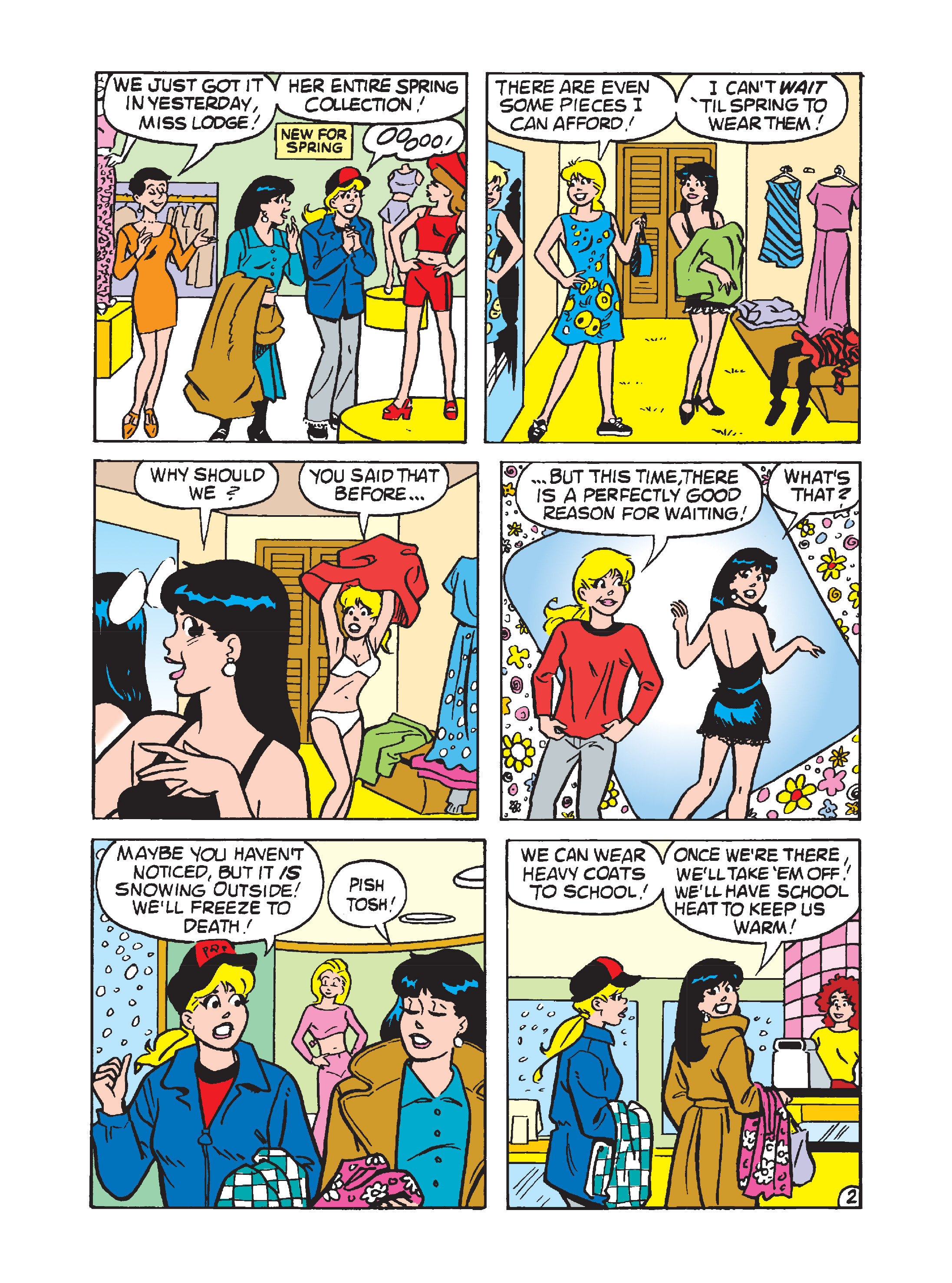 Read online Archie's Funhouse Double Digest comic -  Issue #1 - 74