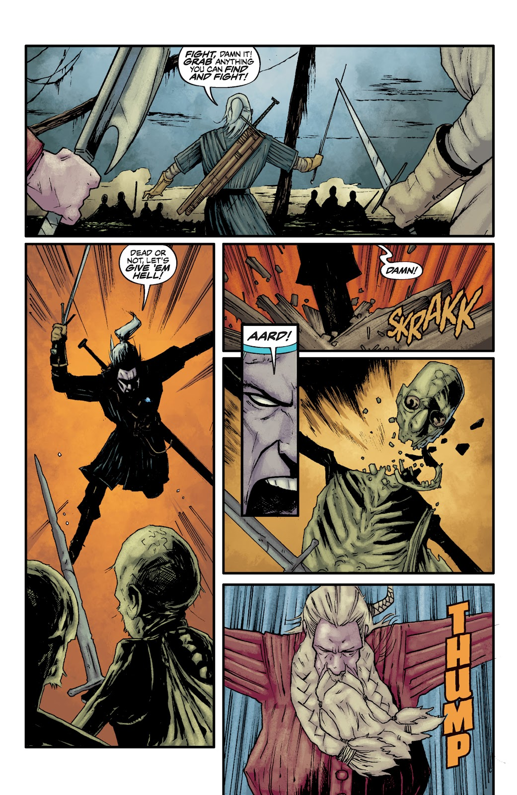 Read online The Witcher Omnibus comic -  Issue # TPB (Part 2) - 67