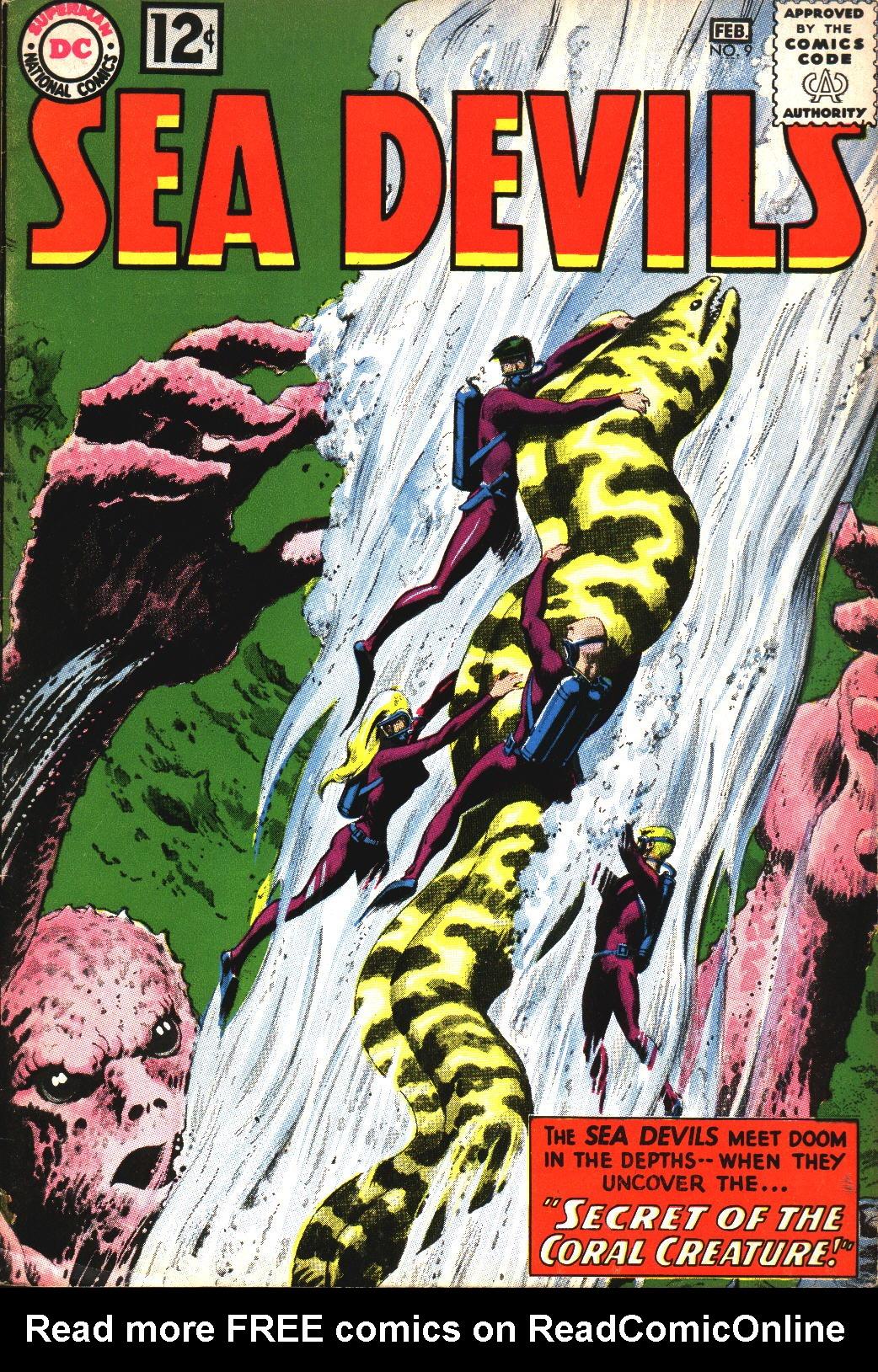 Read online Sea Devils comic -  Issue #9 - 2