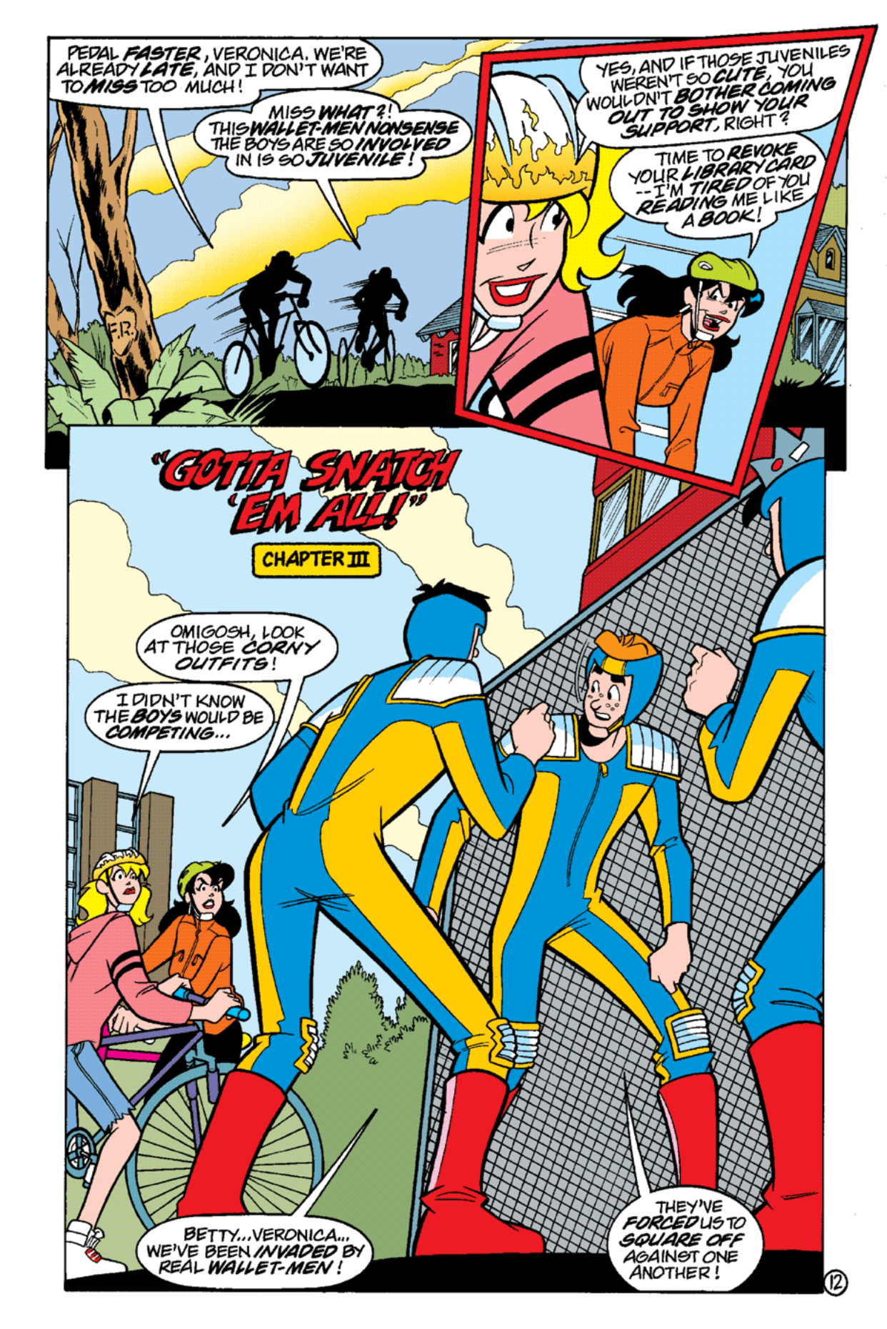 Read online Archie's Weird Mysteries comic -  Issue #17 - 14