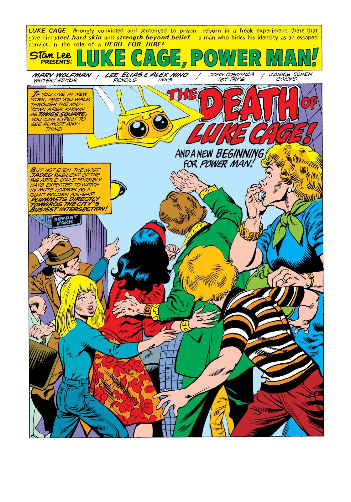 Read online Marvel Masterworks: Luke Cage, Power Man comic -  Issue # TPB 3 (Part 3) - 28