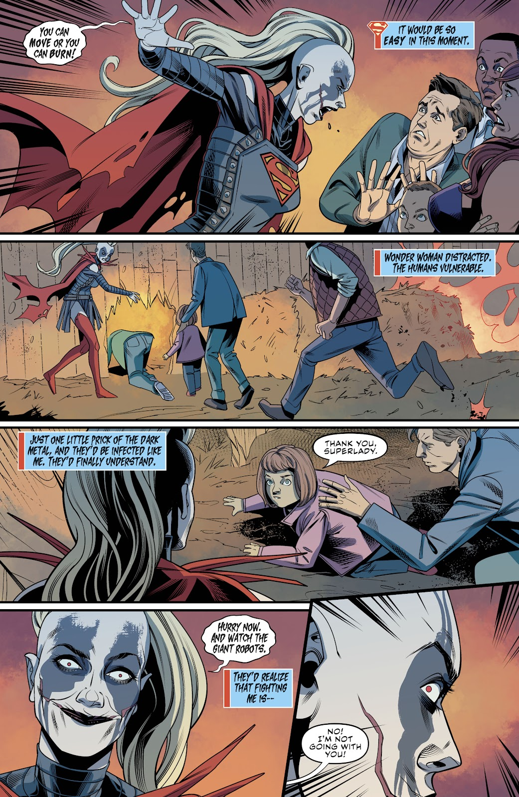 Read online Supergirl (2016) comic -  Issue #39 - 17
